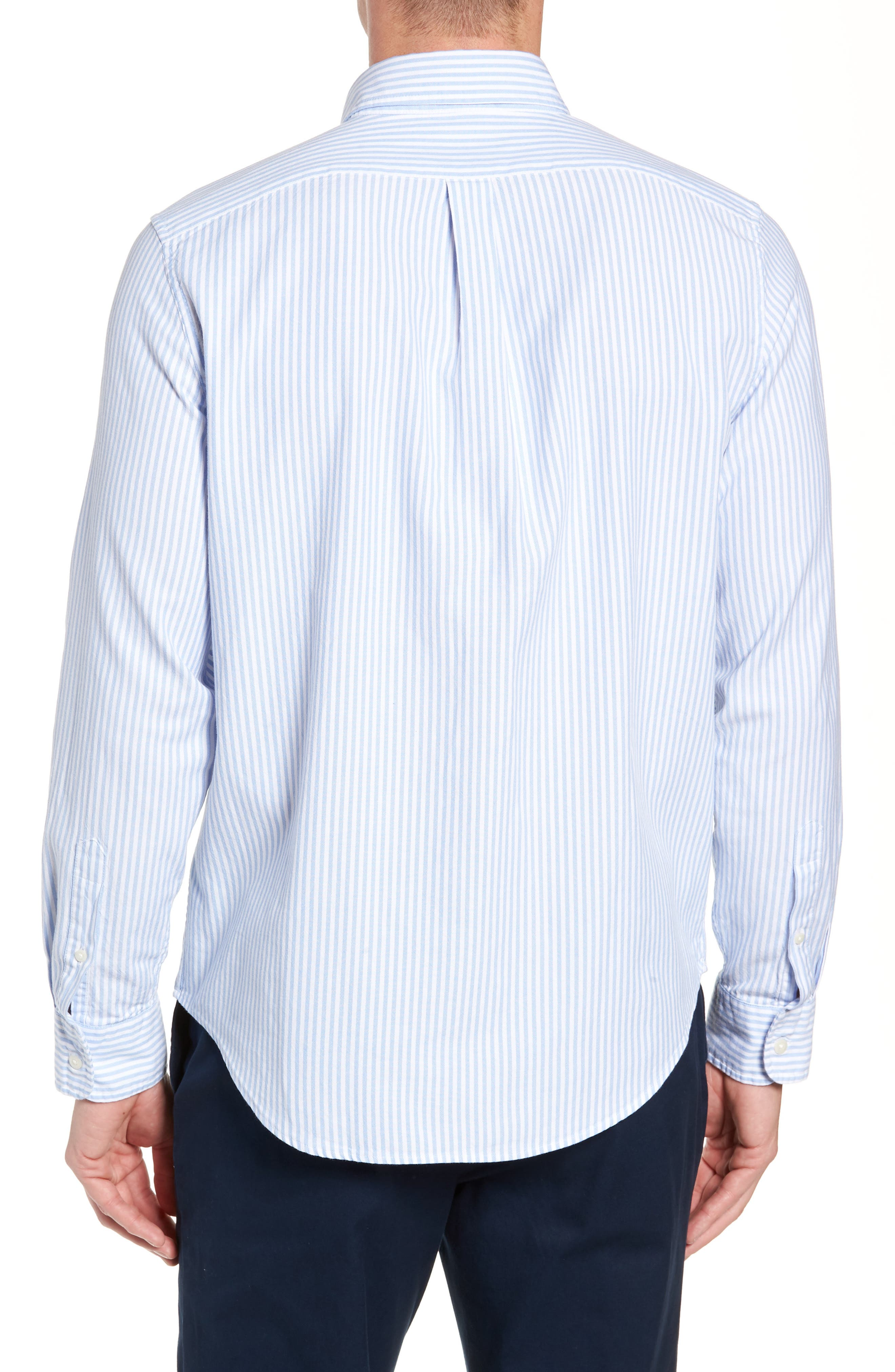 Tiloo Cay Slim Stretch Tucker Sport Shirt,                             Alternate thumbnail 3, color,                             484