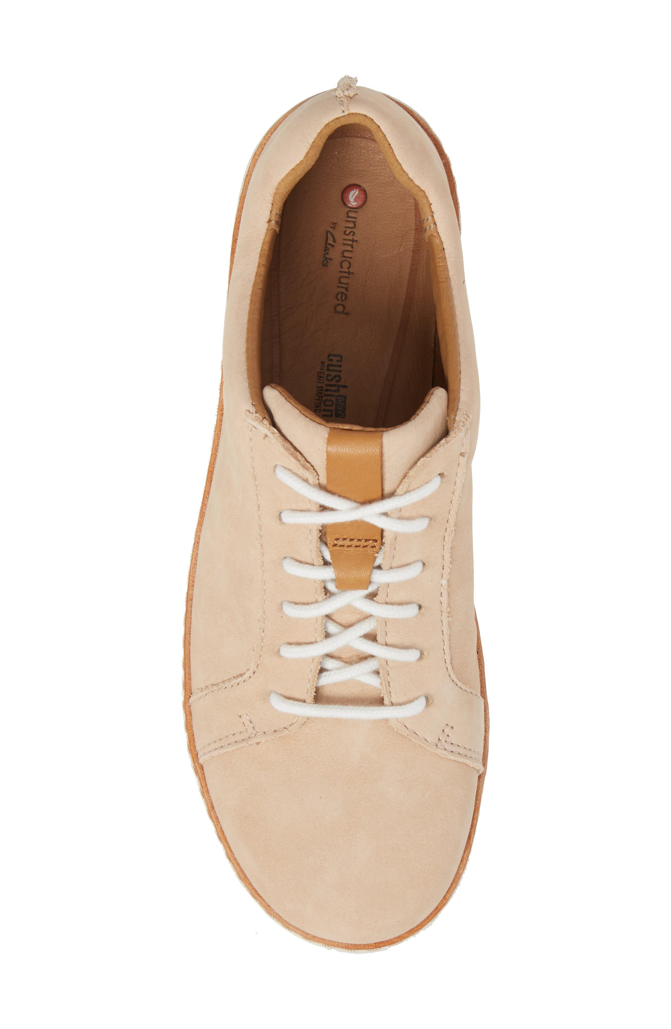Amberlee Rosa Sneaker,                             Alternate thumbnail 5, color,                             NUDE NUBUCK