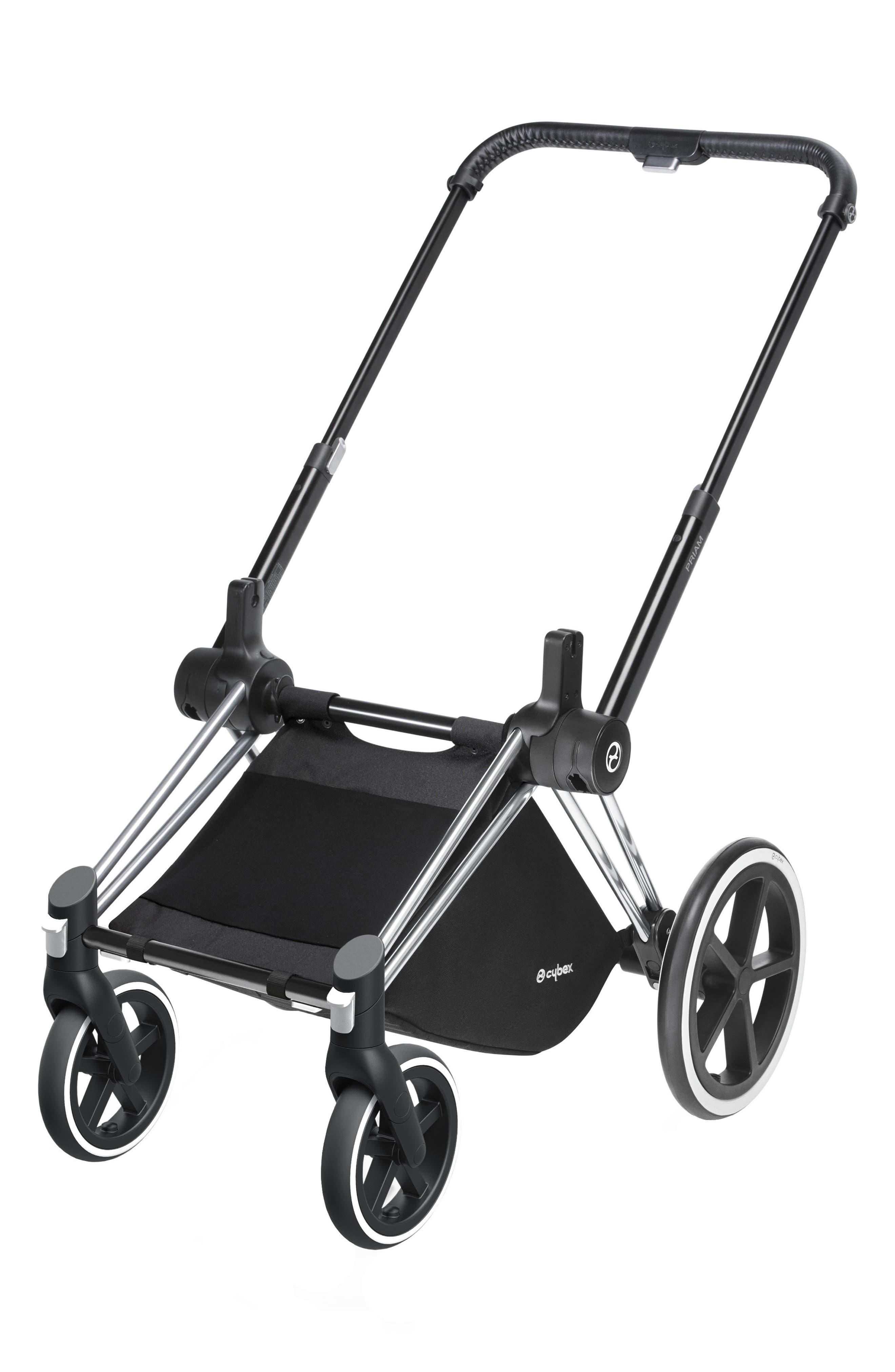 Priam Stroller Frame with Trekking Wheels,                         Main,                         color, TREKKING