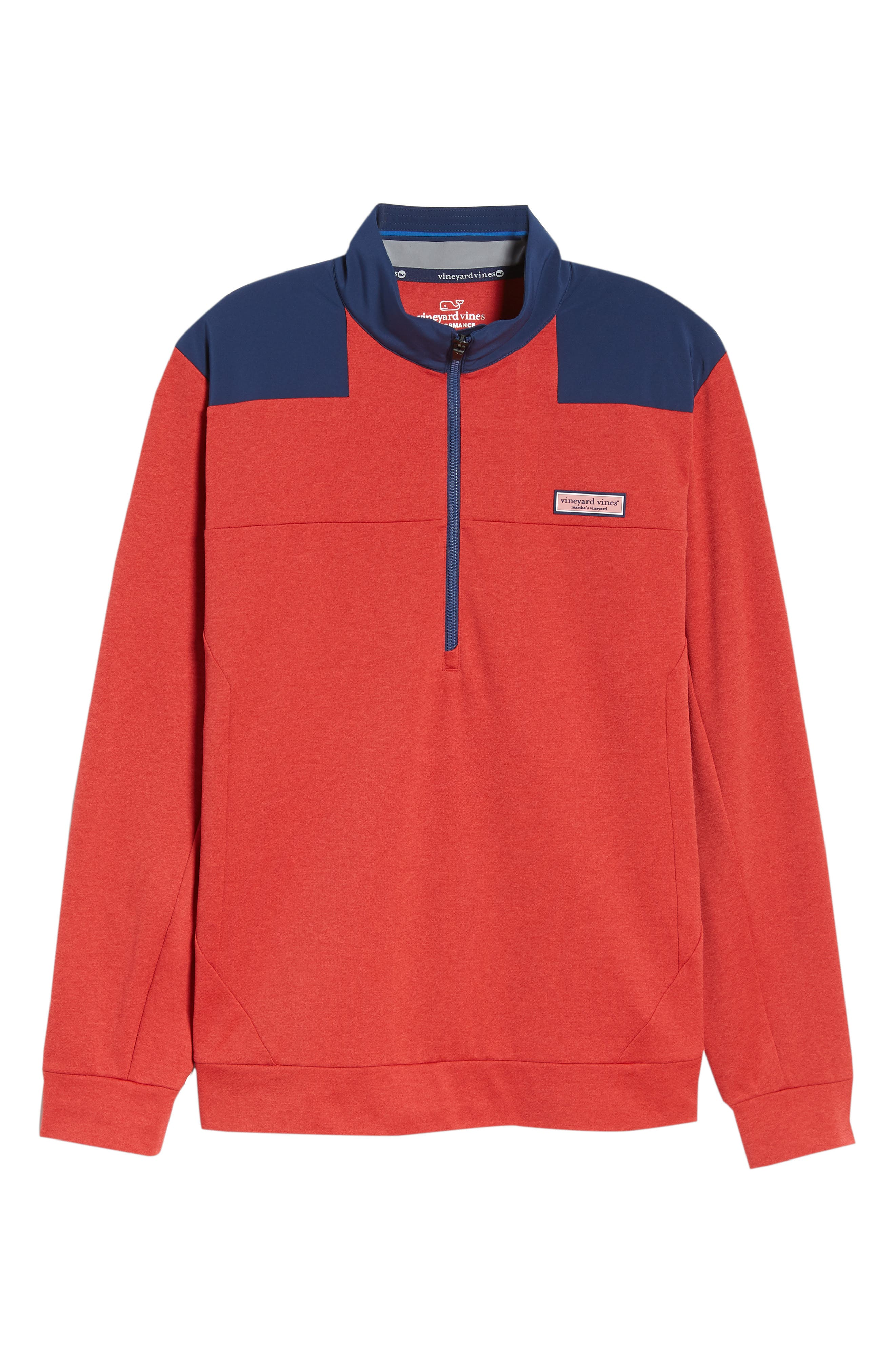 Performance Quarter Zip Pullover,                             Alternate thumbnail 17, color,