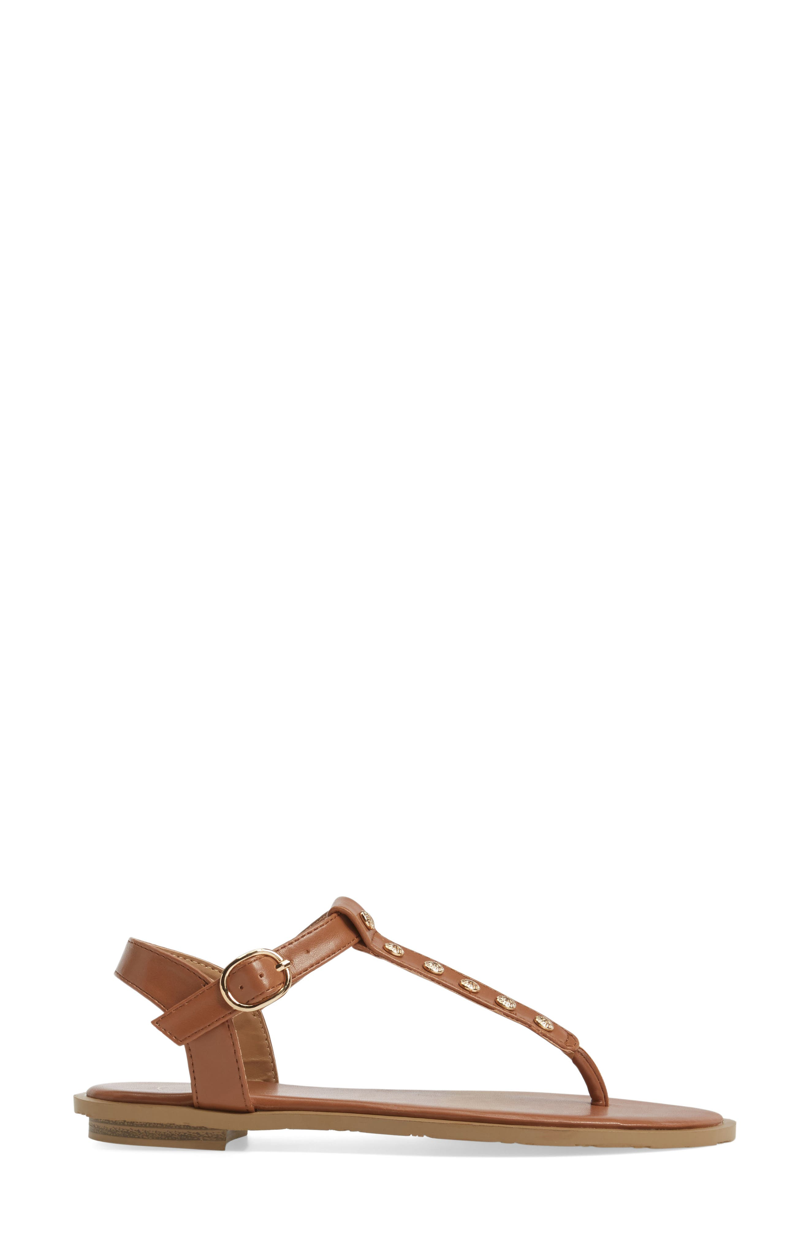 Kamri T-Strap Sandal,                             Alternate thumbnail 9, color,