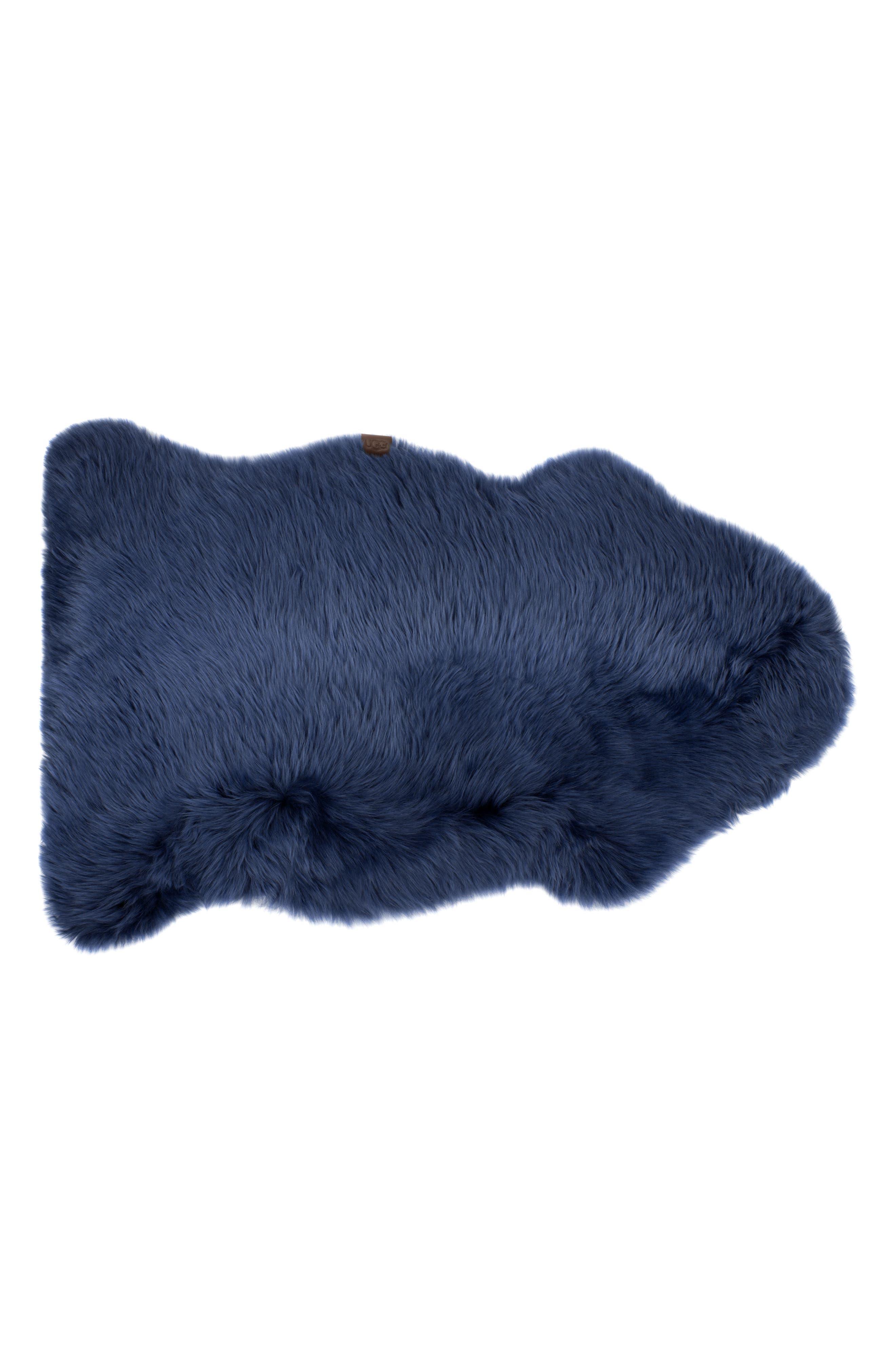 Genuine Sheepskin Rug,                         Main,                         color, IMPERIAL