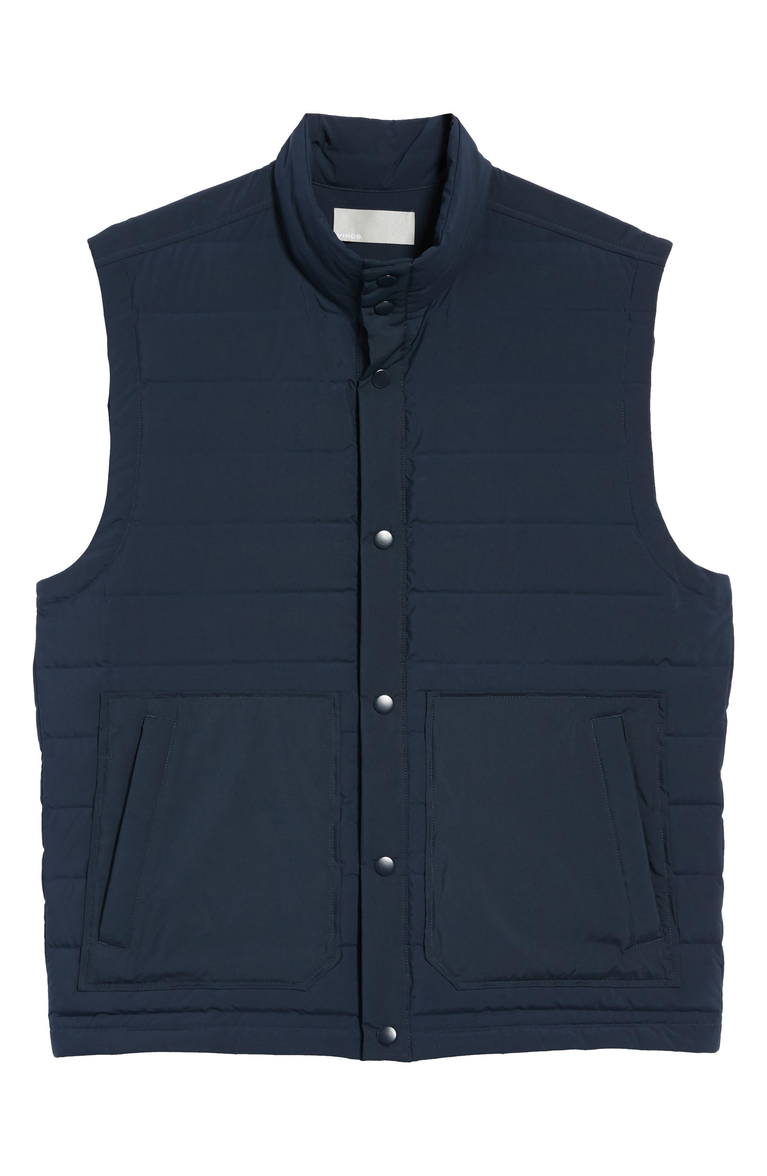 Quilted Down Vest,                             Alternate thumbnail 5, color,