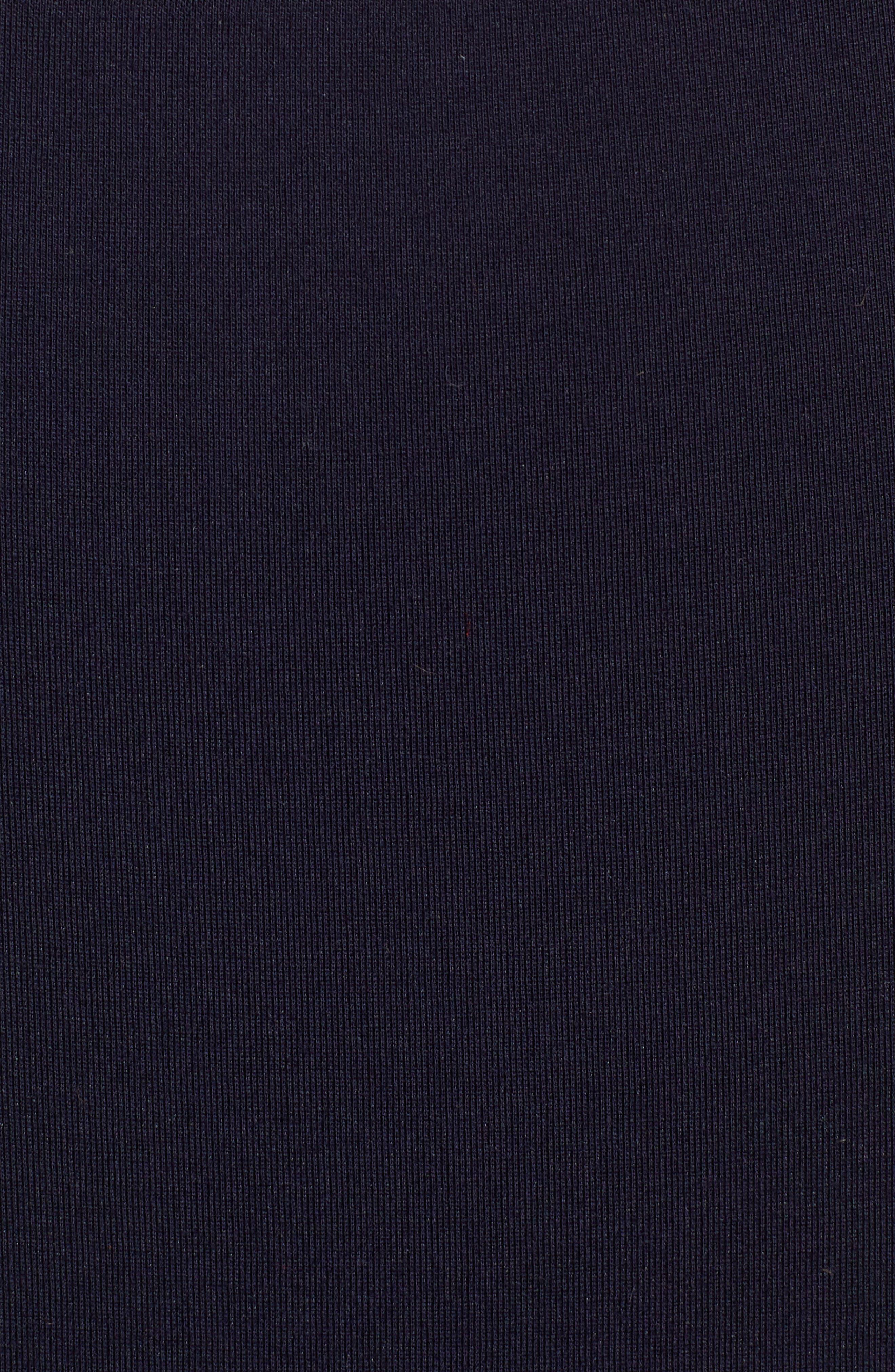 Galactica Body-Con Dress,                             Alternate thumbnail 6, color,                             NAVY