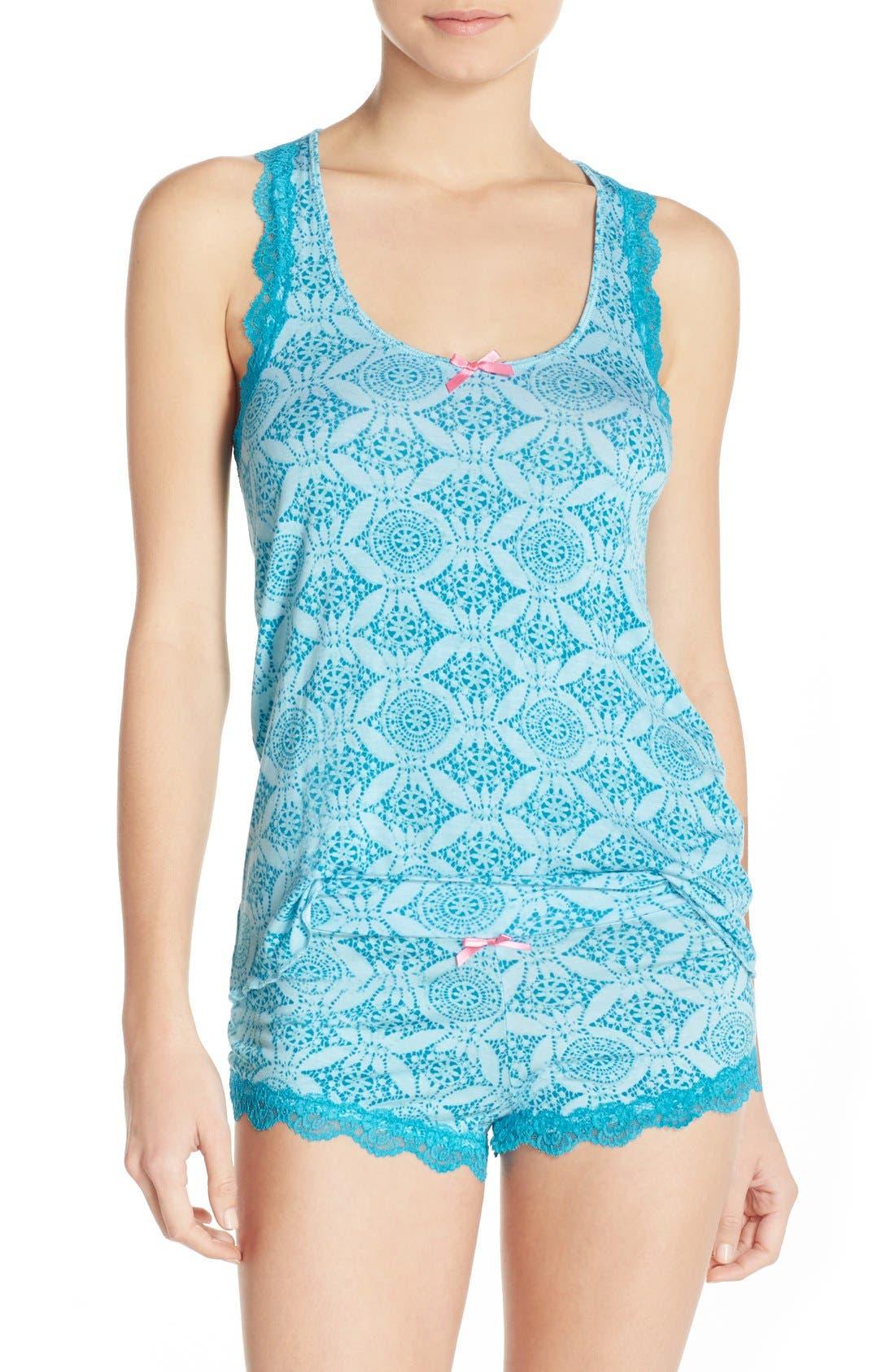All Amercian Short Pajamas,                             Main thumbnail 7, color,