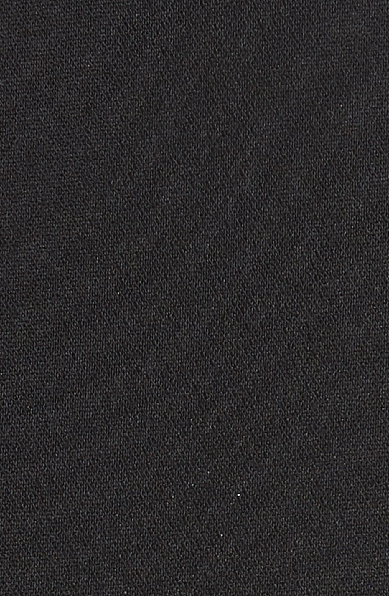 Kenzie Double Breasted Blazer,                             Alternate thumbnail 6, color,                             BLACK
