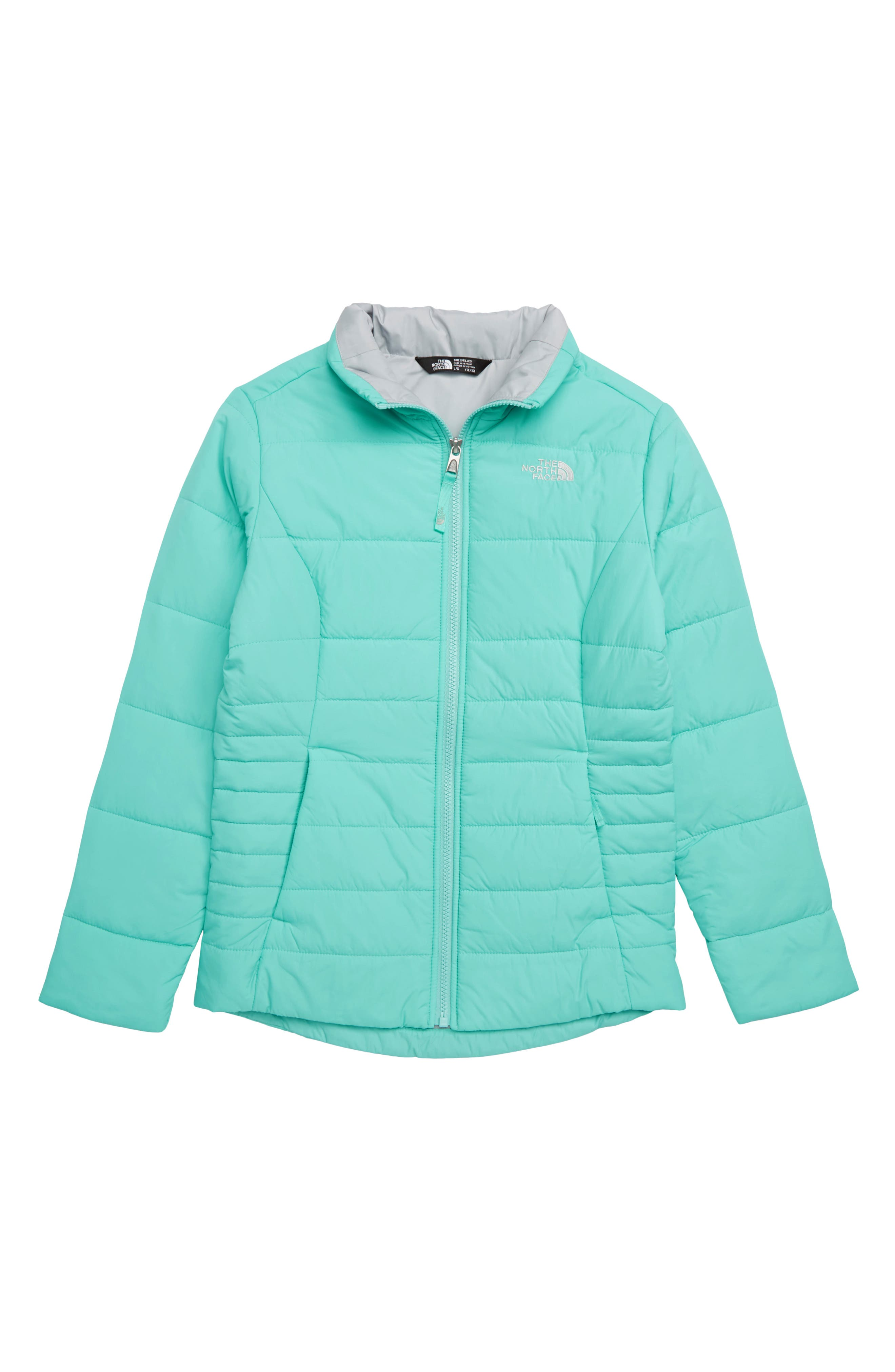 Harway Heatseeker<sup>™</sup>Water-Resistant Jacket,                             Main thumbnail 1, color,                             MINT BLUE