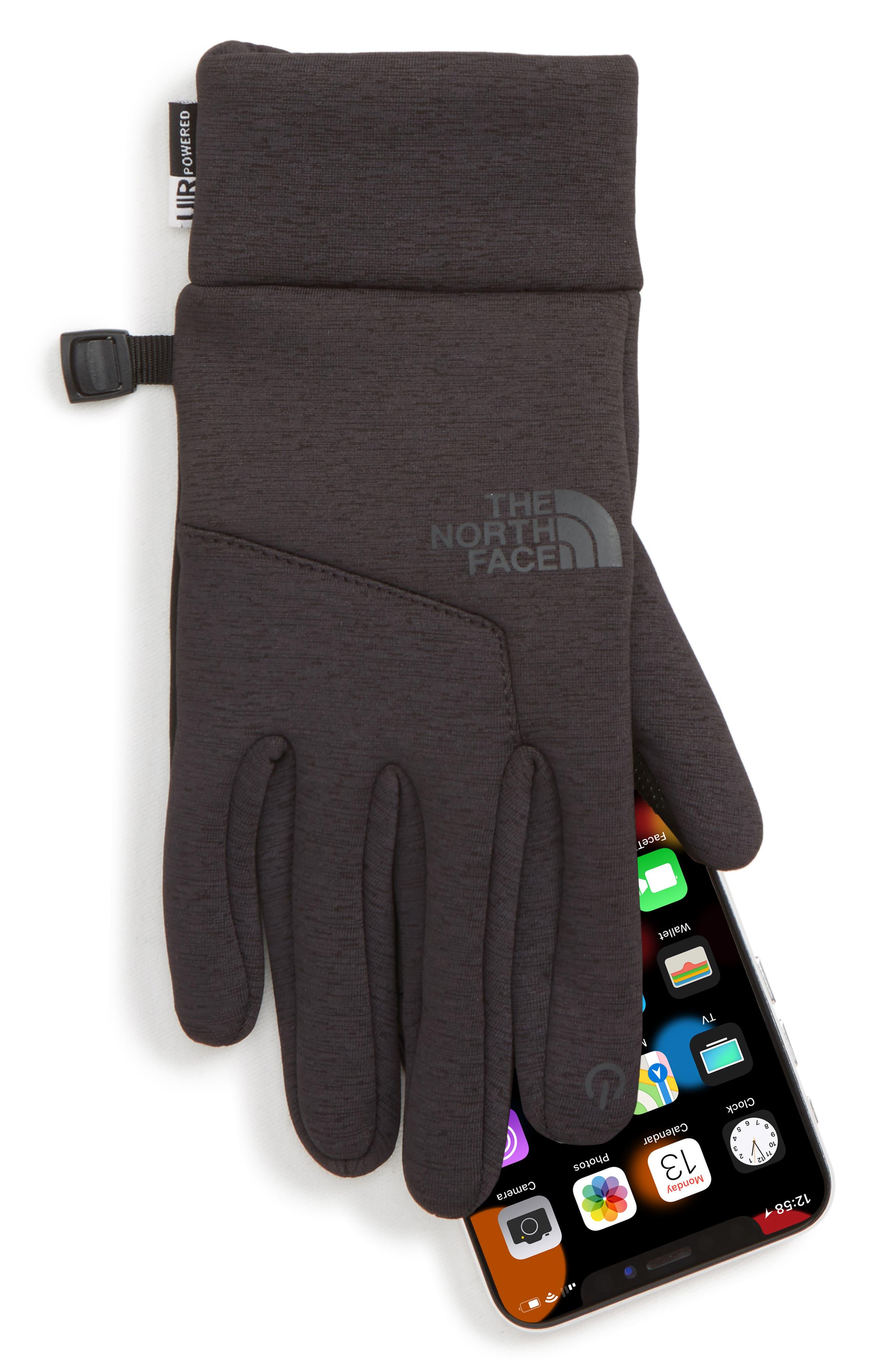 Etip<sup>™</sup> Hardface Tech Gloves,                             Alternate thumbnail 2, color,                             TNF BLACK HEATHER