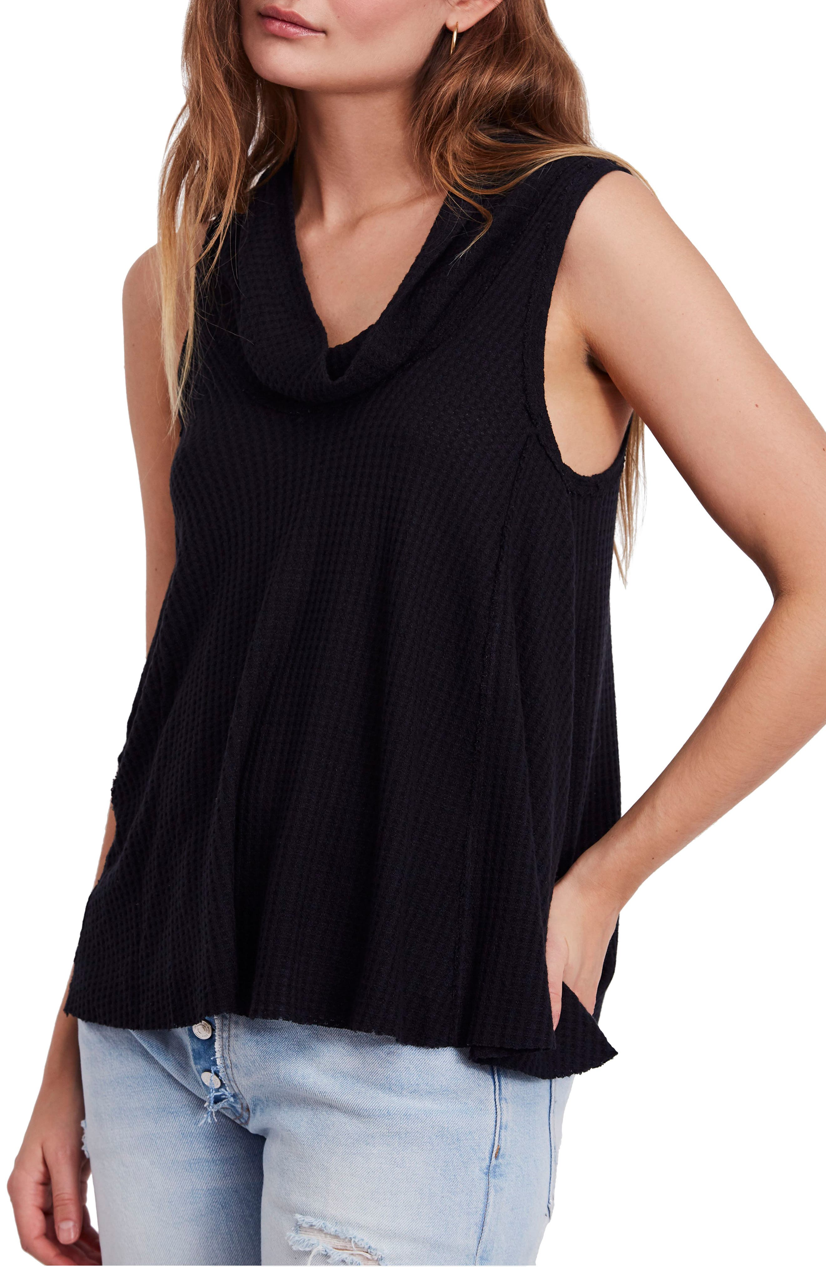 We the Free by Free People Swing It Cowl Tank,                             Main thumbnail 1, color,