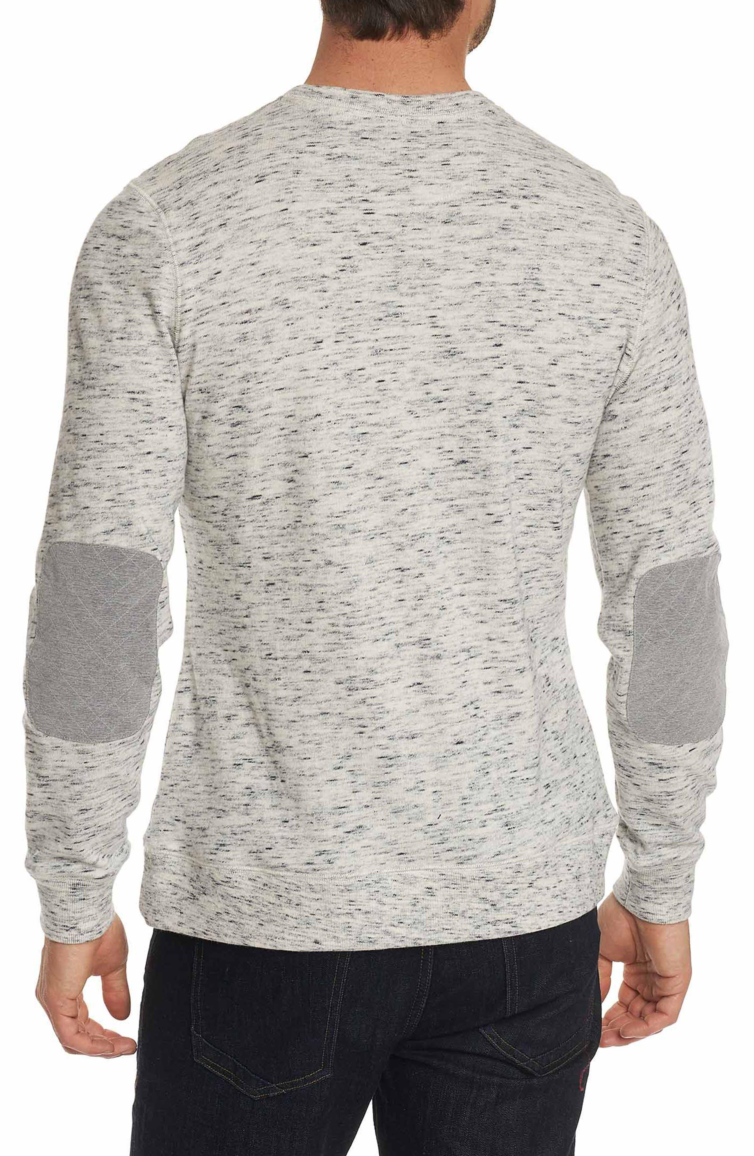 Endurance Elbow Patch Sweatshirt,                             Alternate thumbnail 4, color,