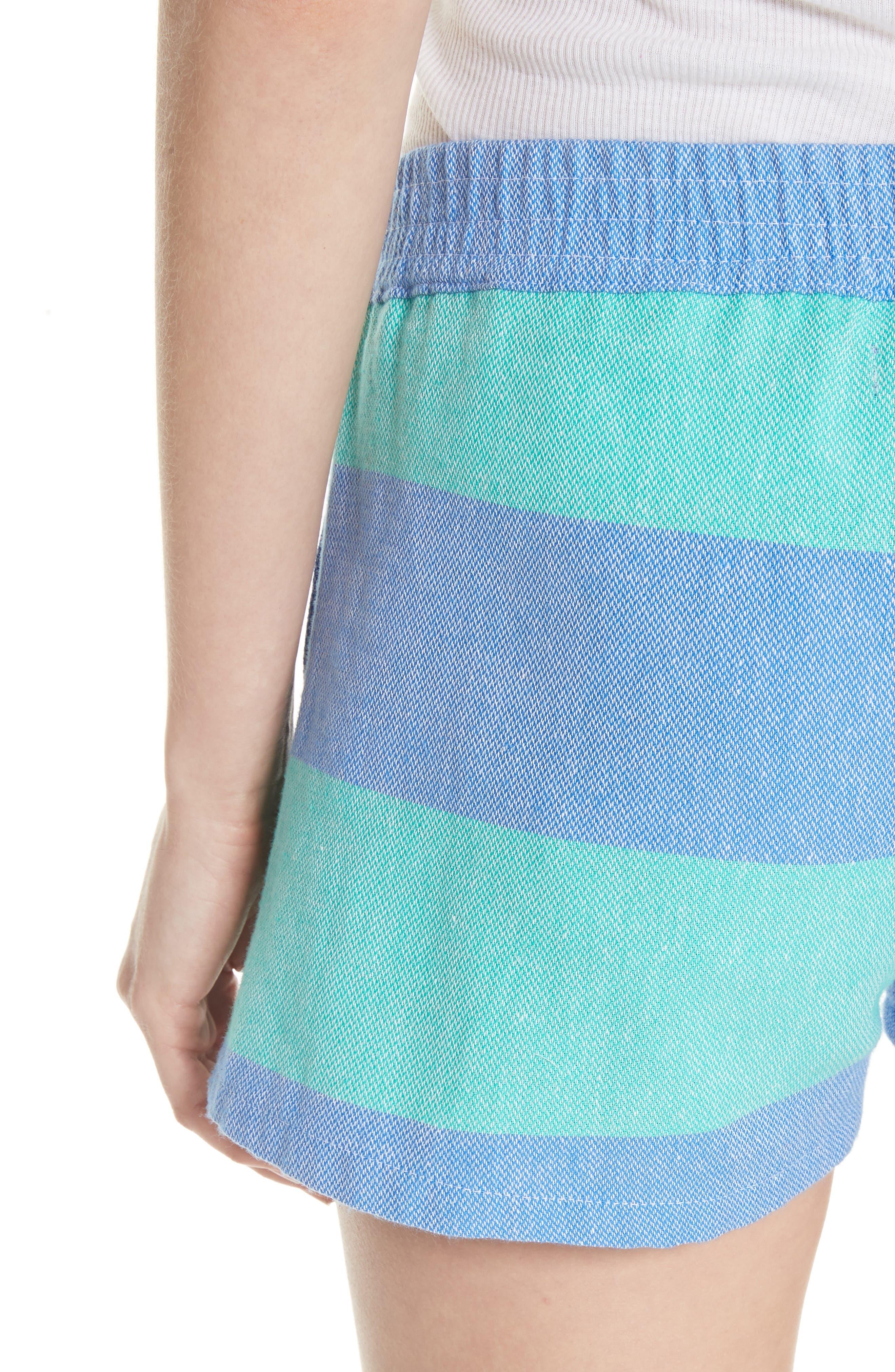 Surf Stripe Shorts,                             Alternate thumbnail 5, color,