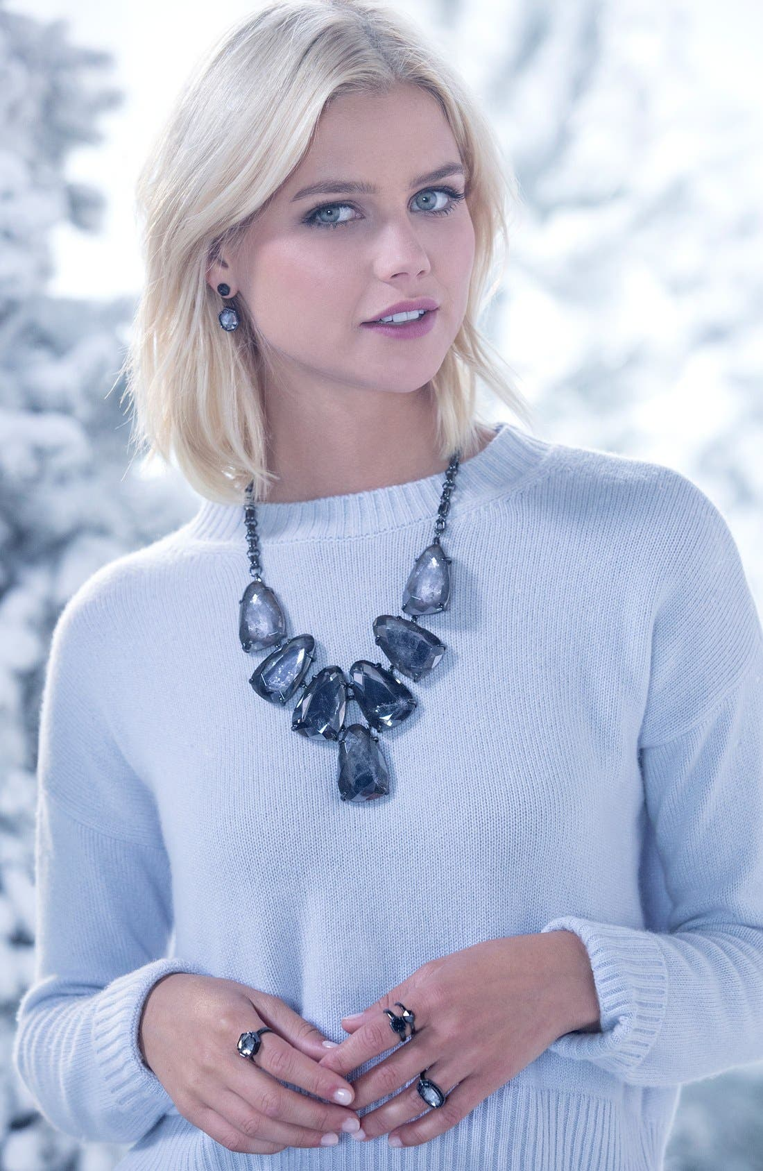 Harlow Necklace,                             Alternate thumbnail 91, color,