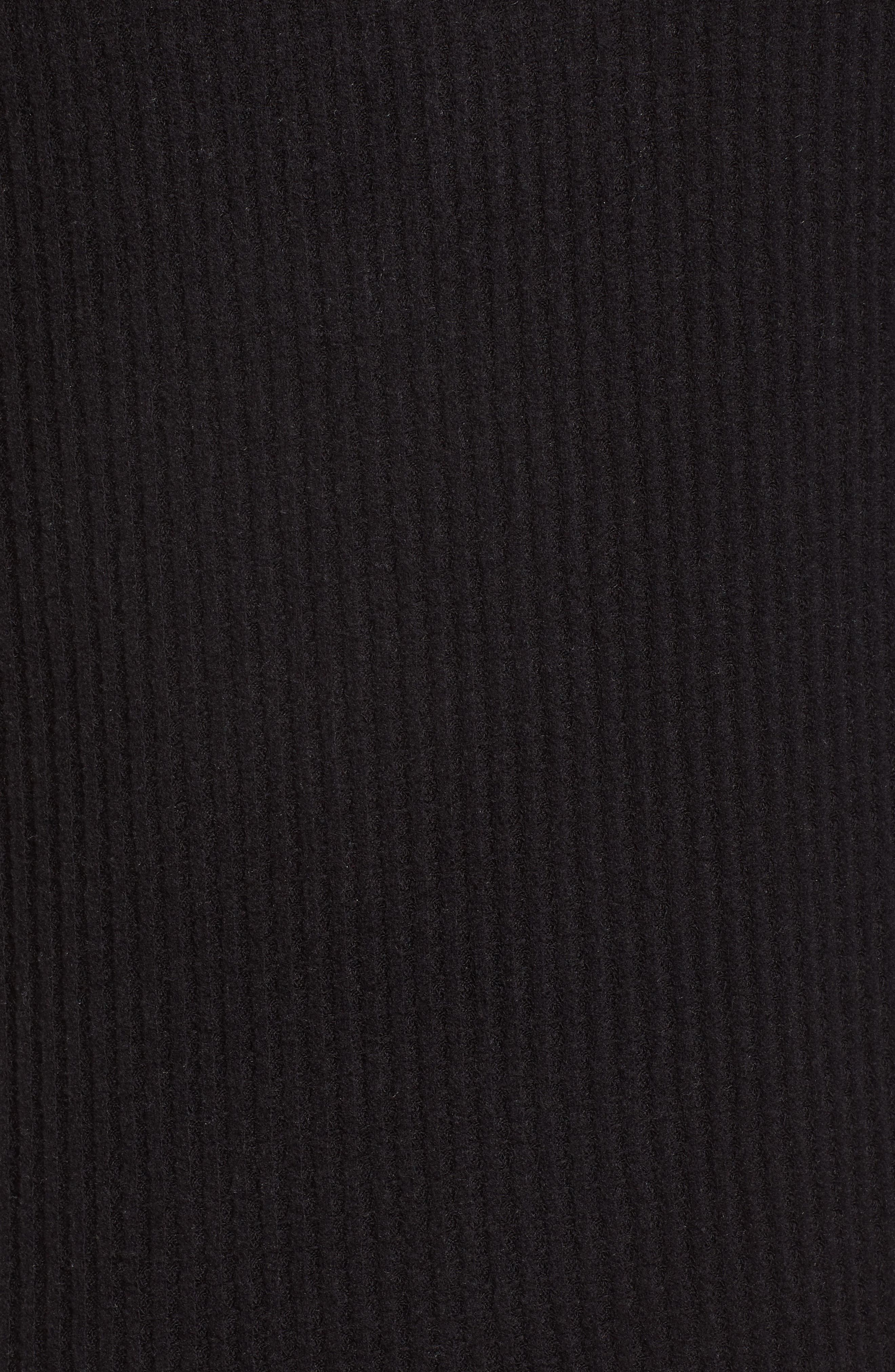 Thermal Henley Top,                             Alternate thumbnail 5, color,                             001