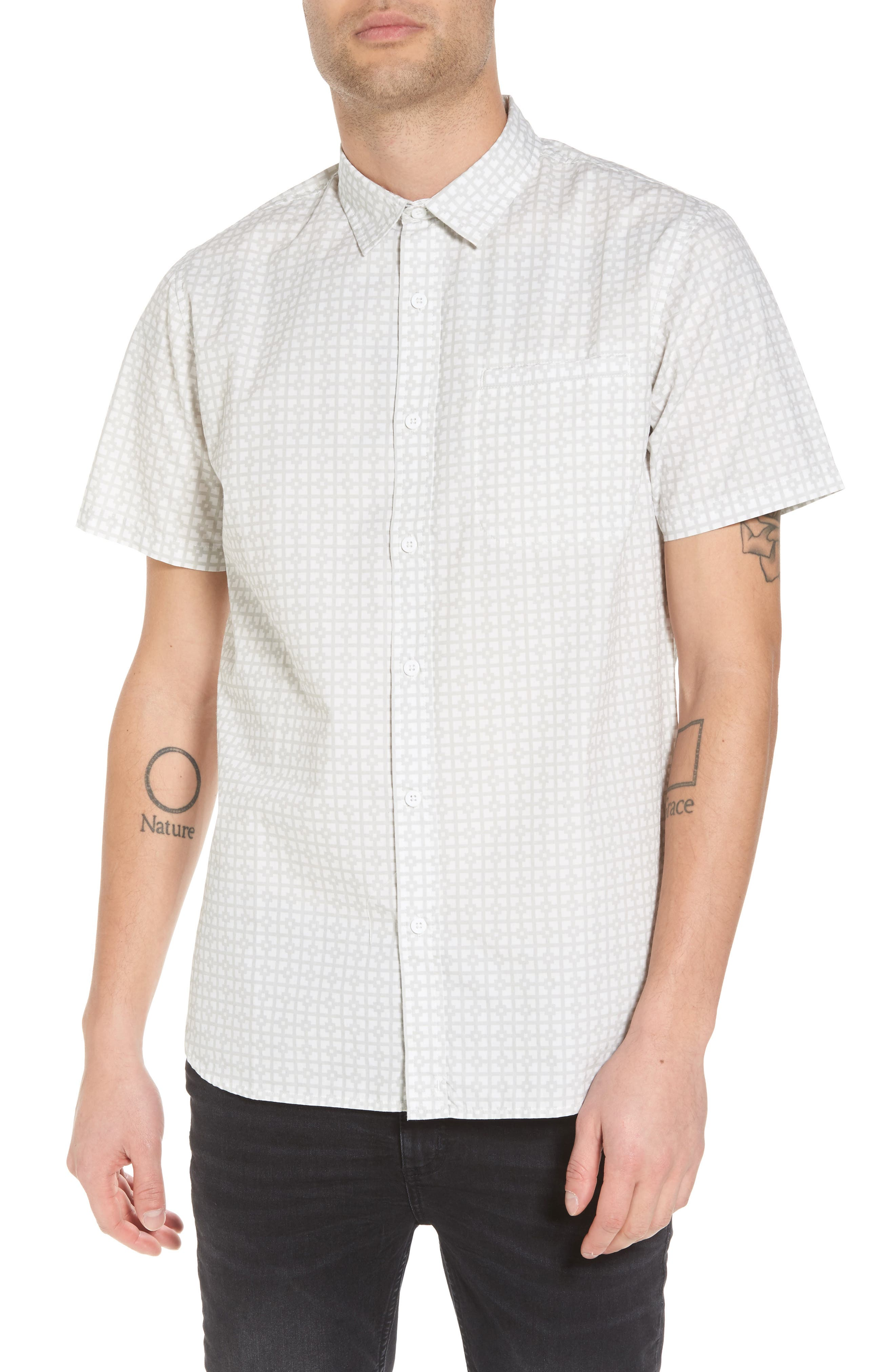 Porter Woven Shirt,                             Main thumbnail 2, color,