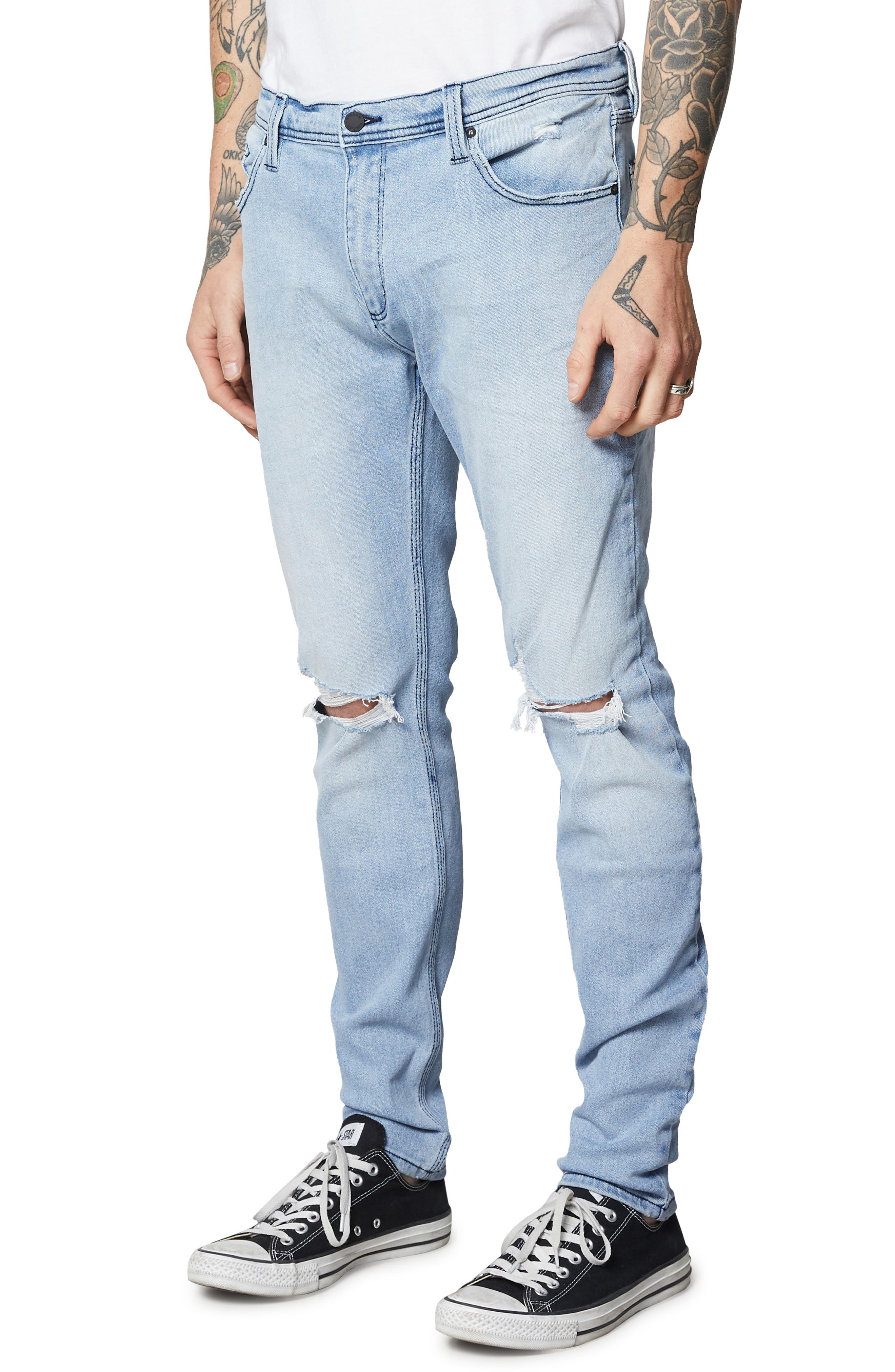 ROLLA'S,                             Stinger Skinny Fit Jeans,                             Alternate thumbnail 3, color,                             403