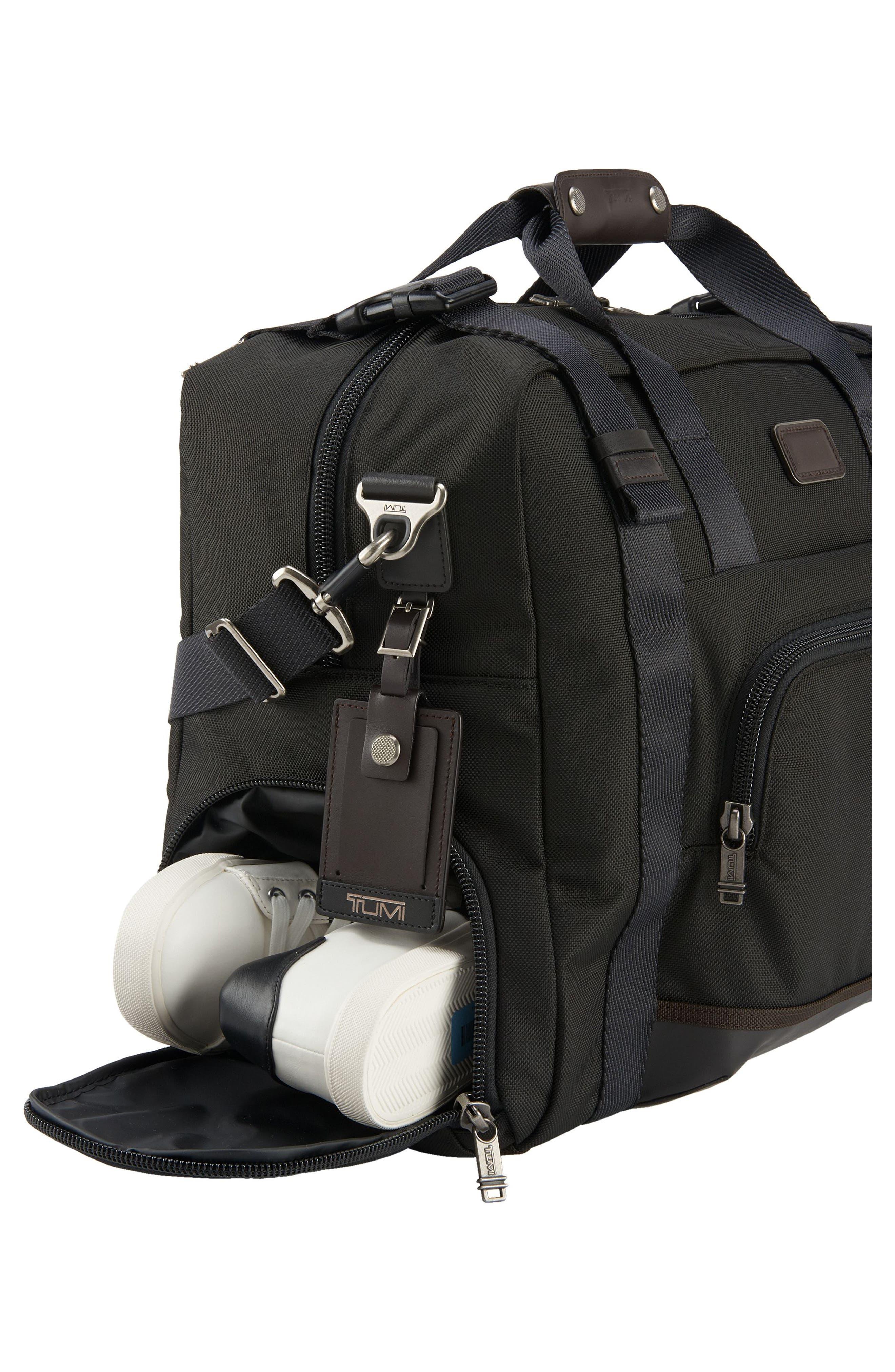 Alpha Bravo Buckner Duffel Bag,                             Alternate thumbnail 5, color,                             001