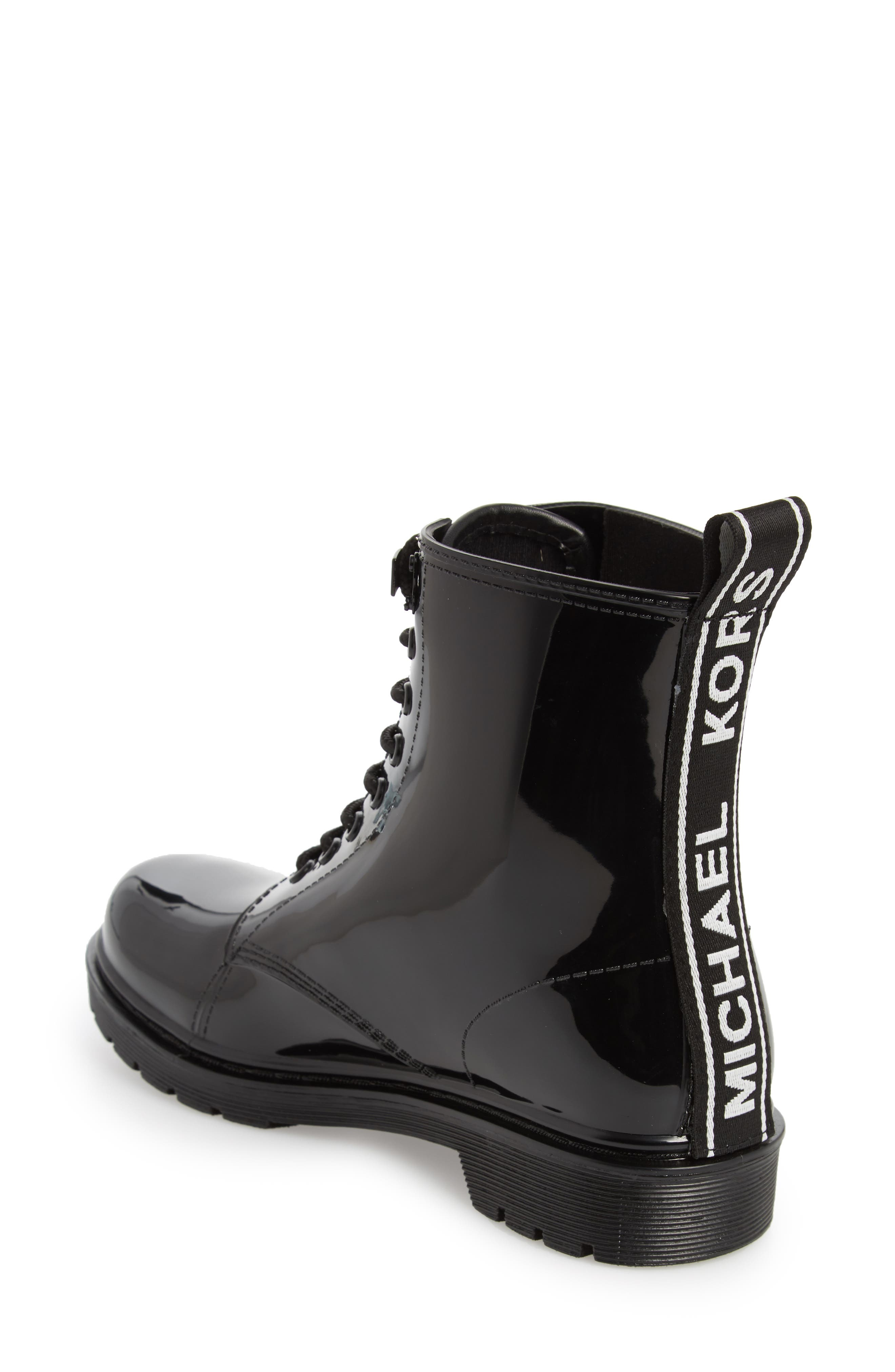 Tavie Rain Boot,                             Alternate thumbnail 2, color,                             BLACK