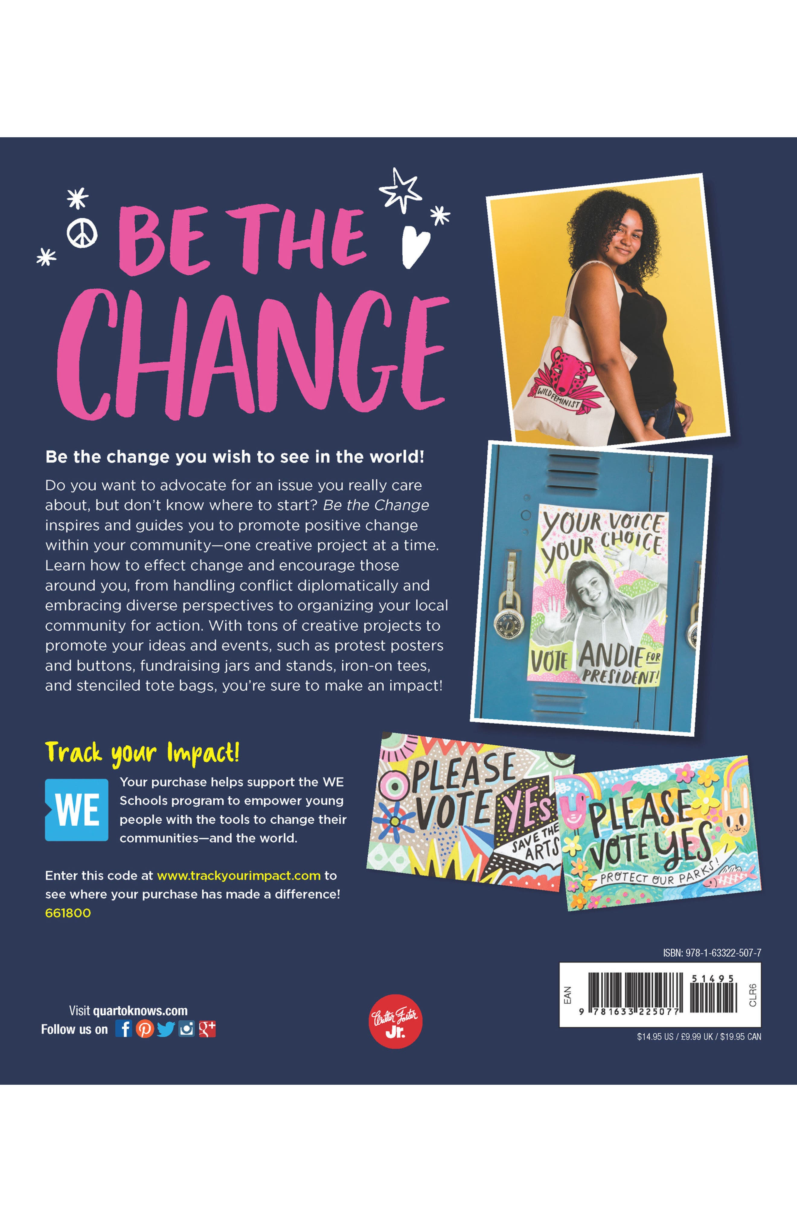 'Be the Change' Book,                             Alternate thumbnail 2, color,                             400