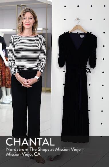 Velvet Culotte Jumpsuit, sales video thumbnail
