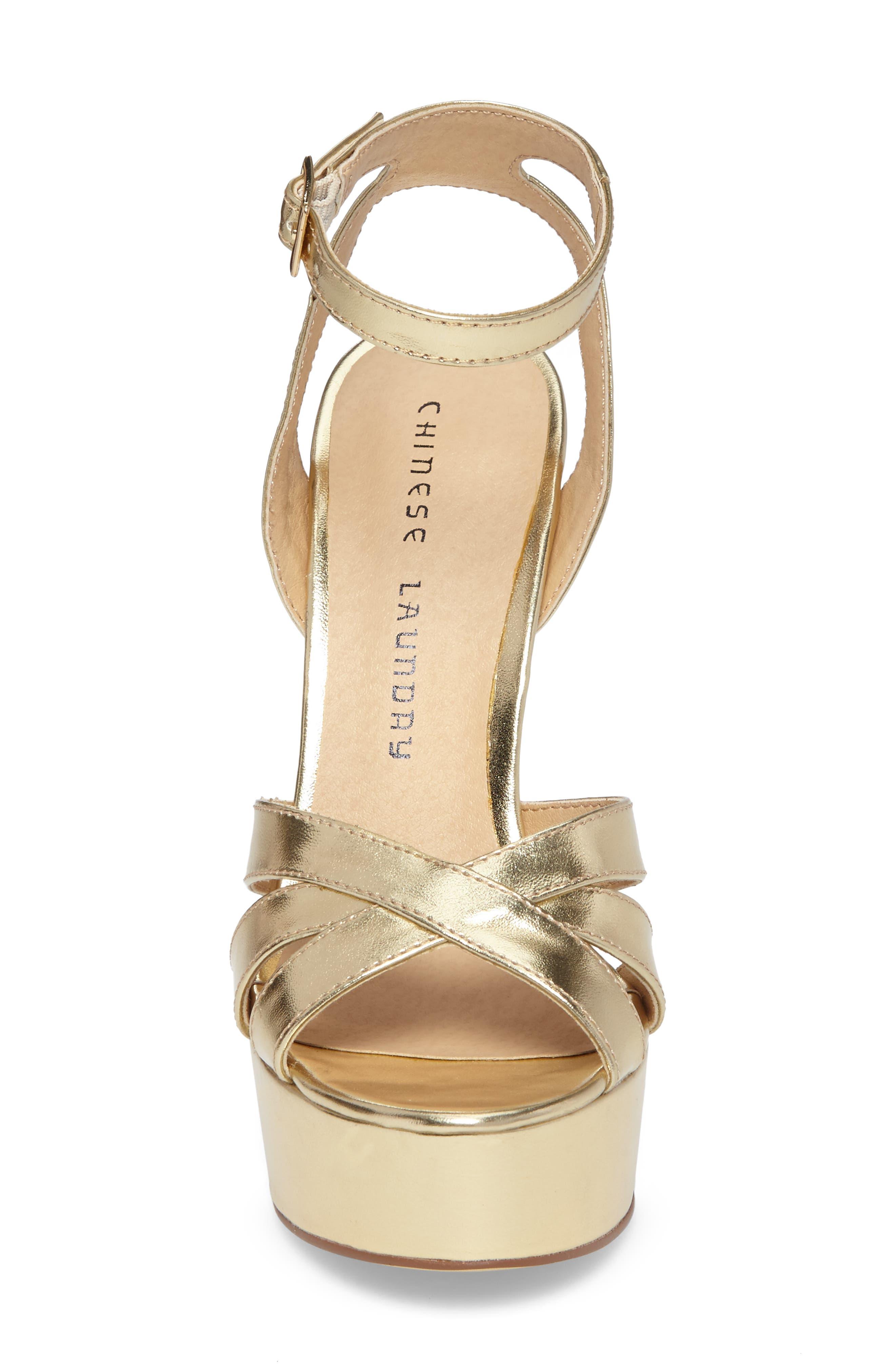 Alyssa Strappy Platform Sandal,                             Alternate thumbnail 8, color,