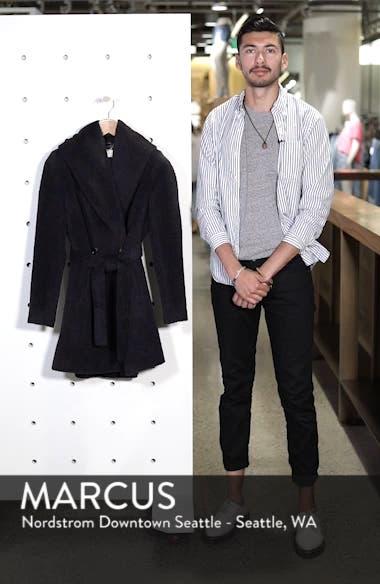 Grace Hooded Wrap Walker Coat, sales video thumbnail