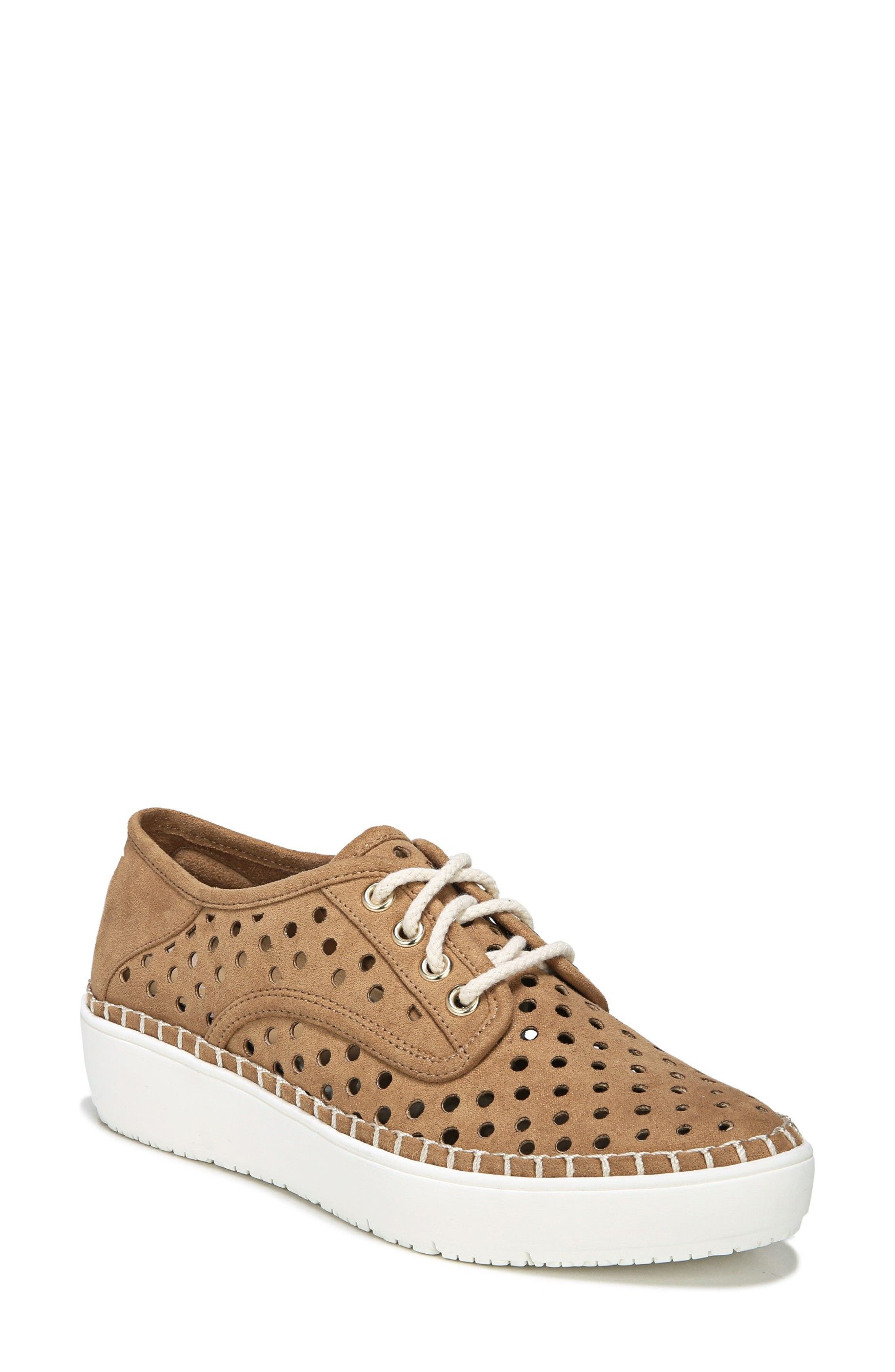 Global Sneaker,                         Main,                         color, SADDLE FAUX LEATHER