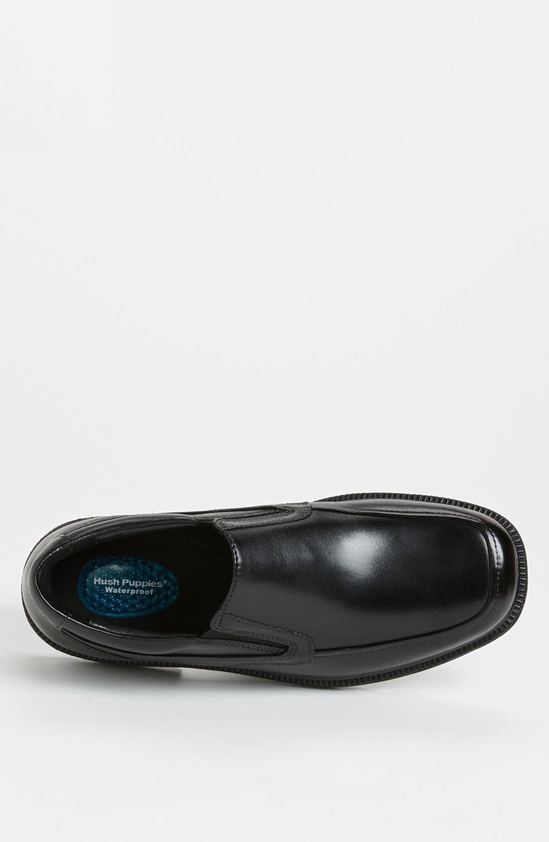 HUSH PUPPIES<SUP>®</SUP>,                             'Leverage' Waterproof Slip-On,                             Alternate thumbnail 2, color,                             001