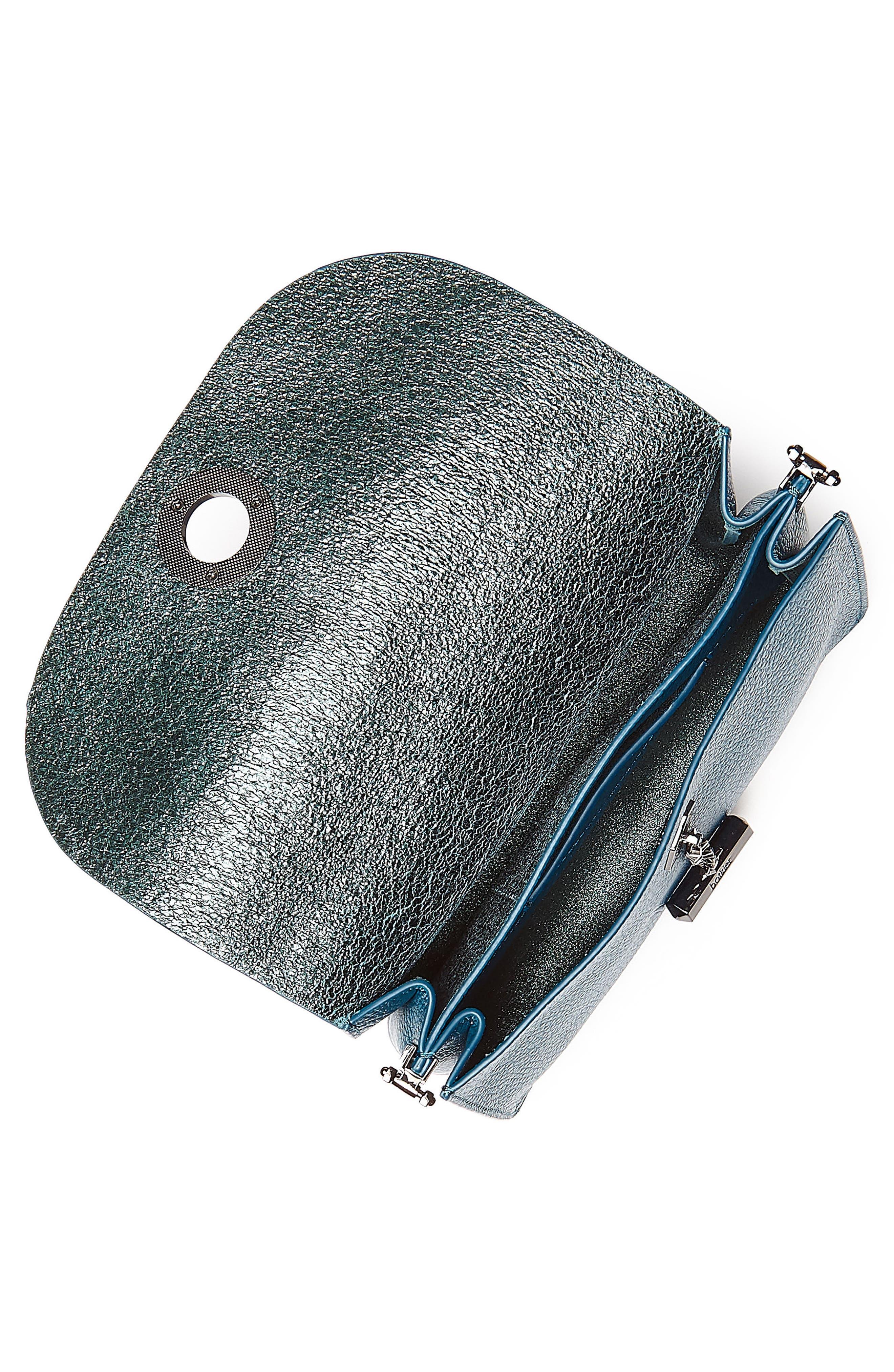 Waverly Leather Crossbody Bag,                             Alternate thumbnail 14, color,