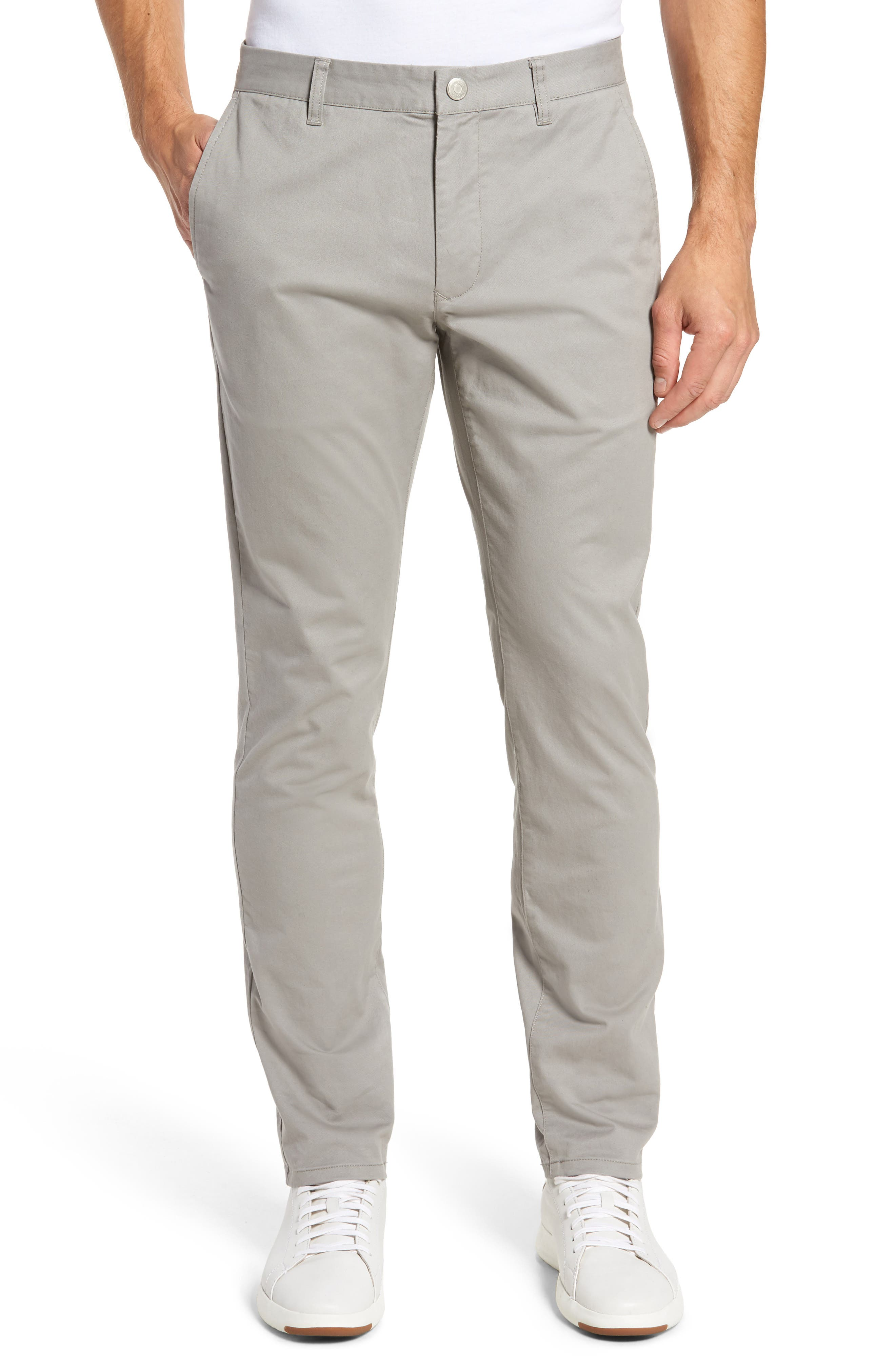 Tailored Fit Washed Stretch Cotton Chinos,                             Main thumbnail 27, color,