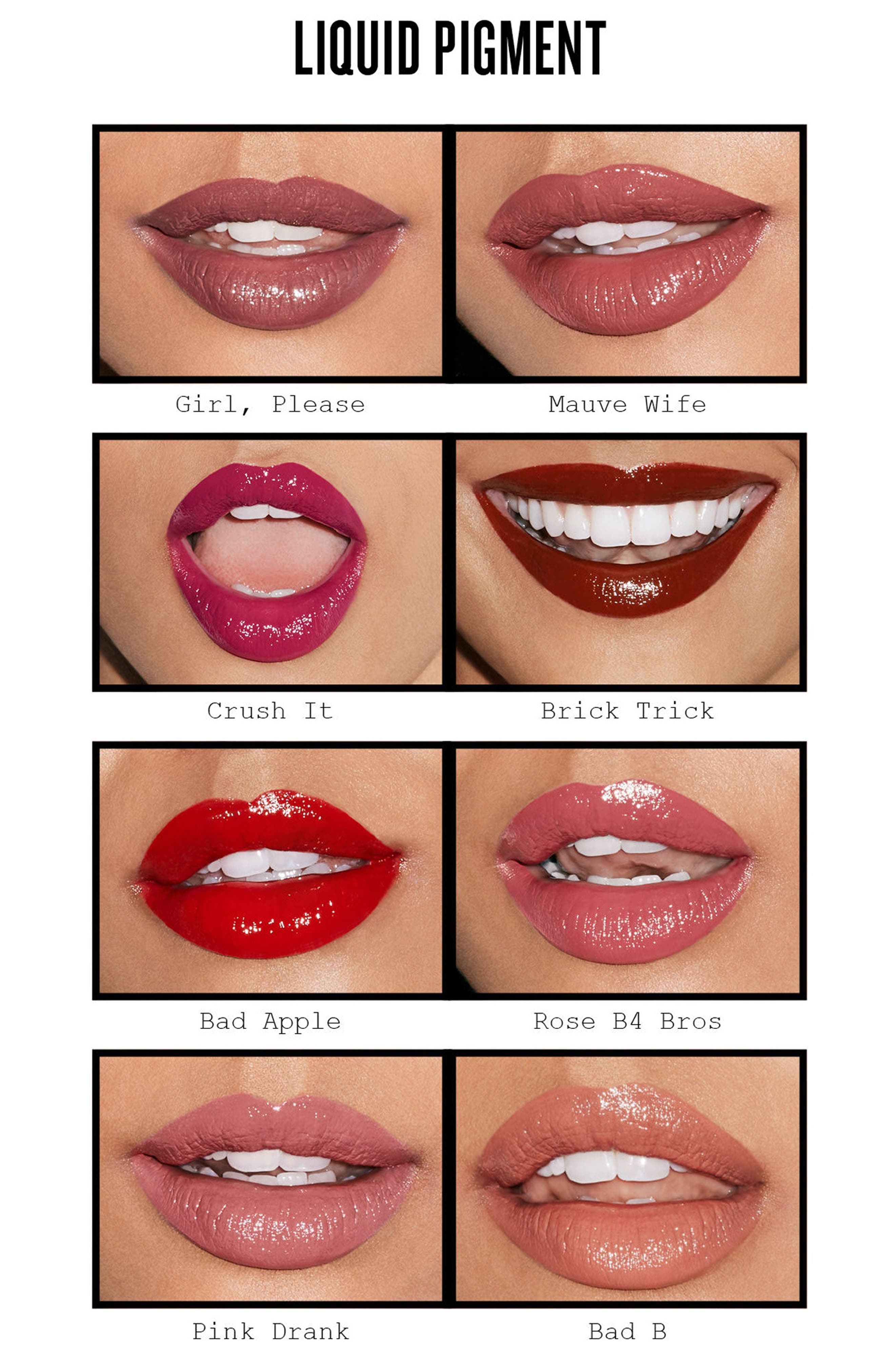 Be Legendary Liquid Pigment Liquid Lip,                             Alternate thumbnail 2, color,                             GIRL, PLEASE