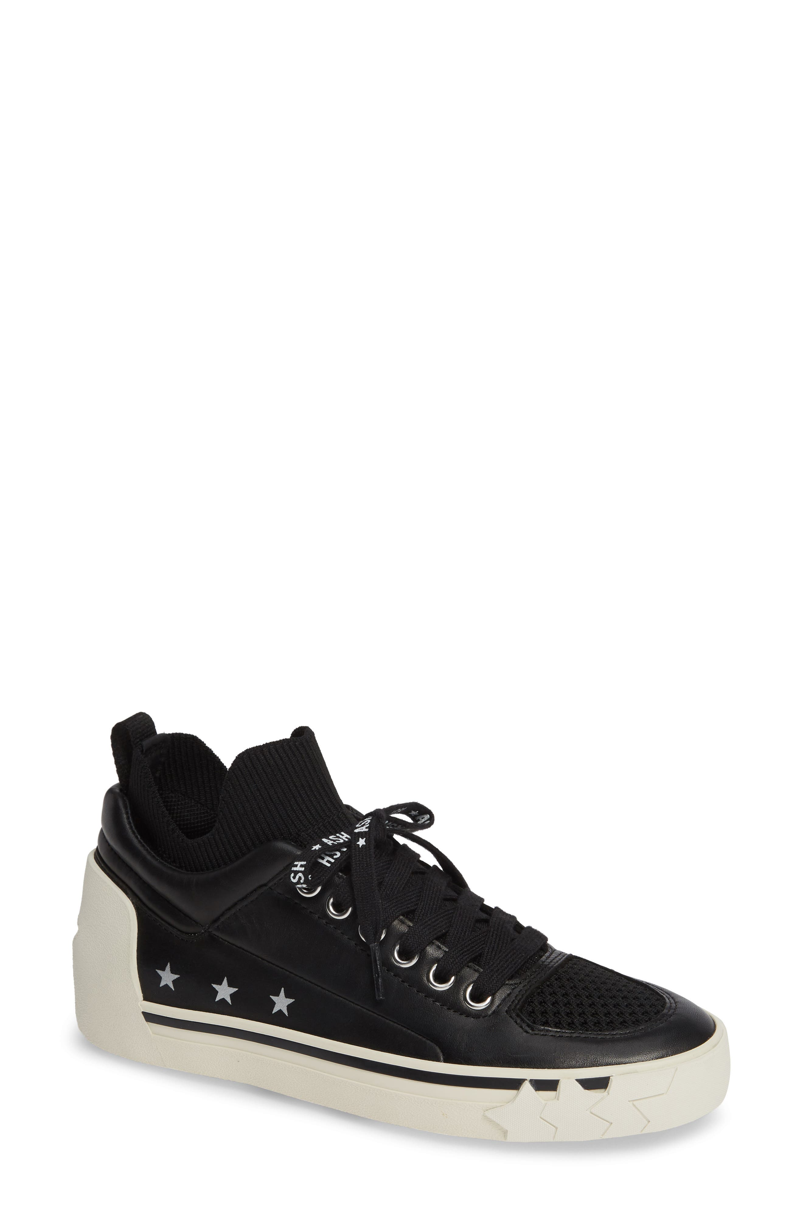 Ash High Top Sneaker, Black