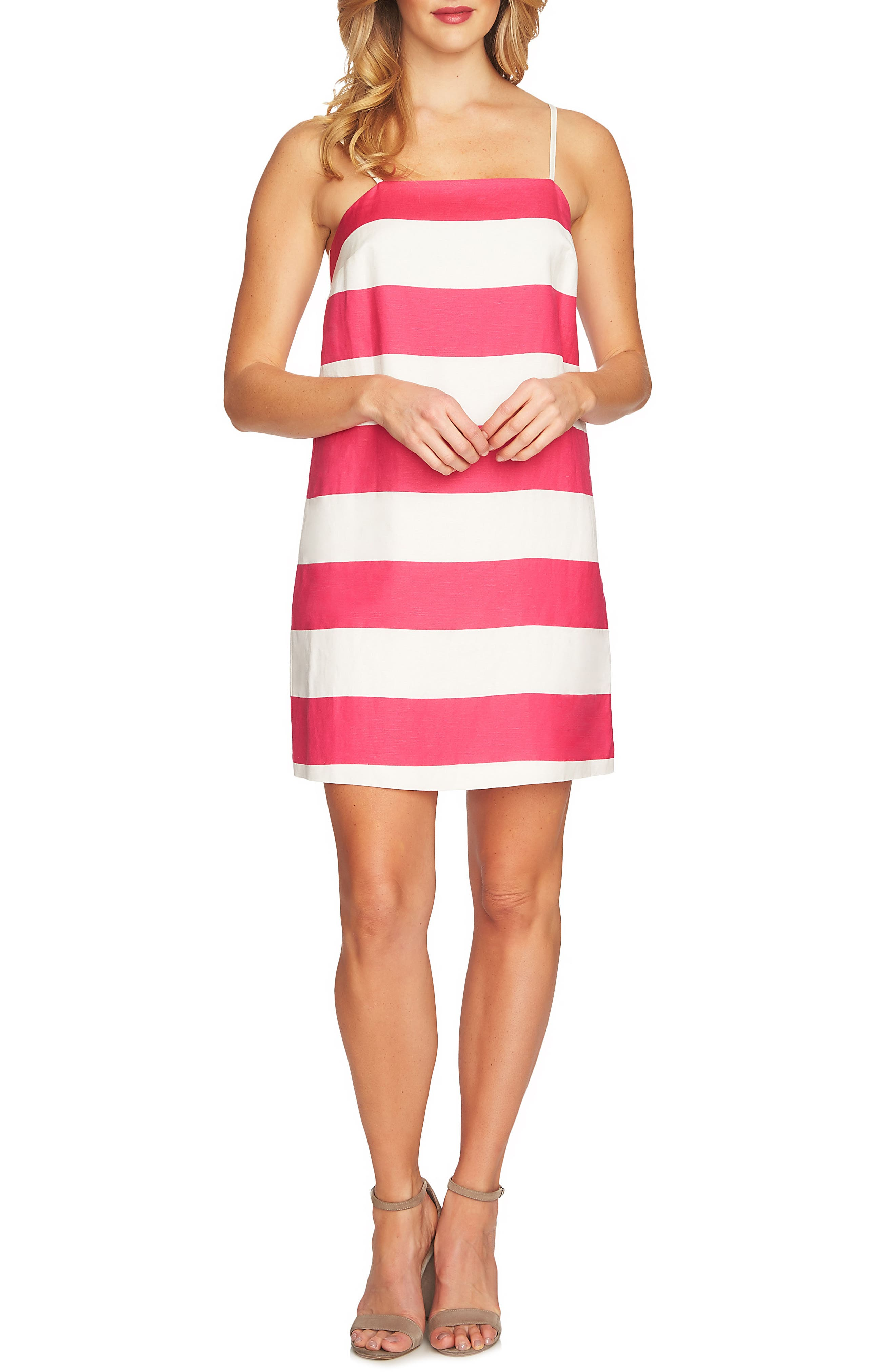 Carnival Stripe Dress,                             Main thumbnail 2, color,