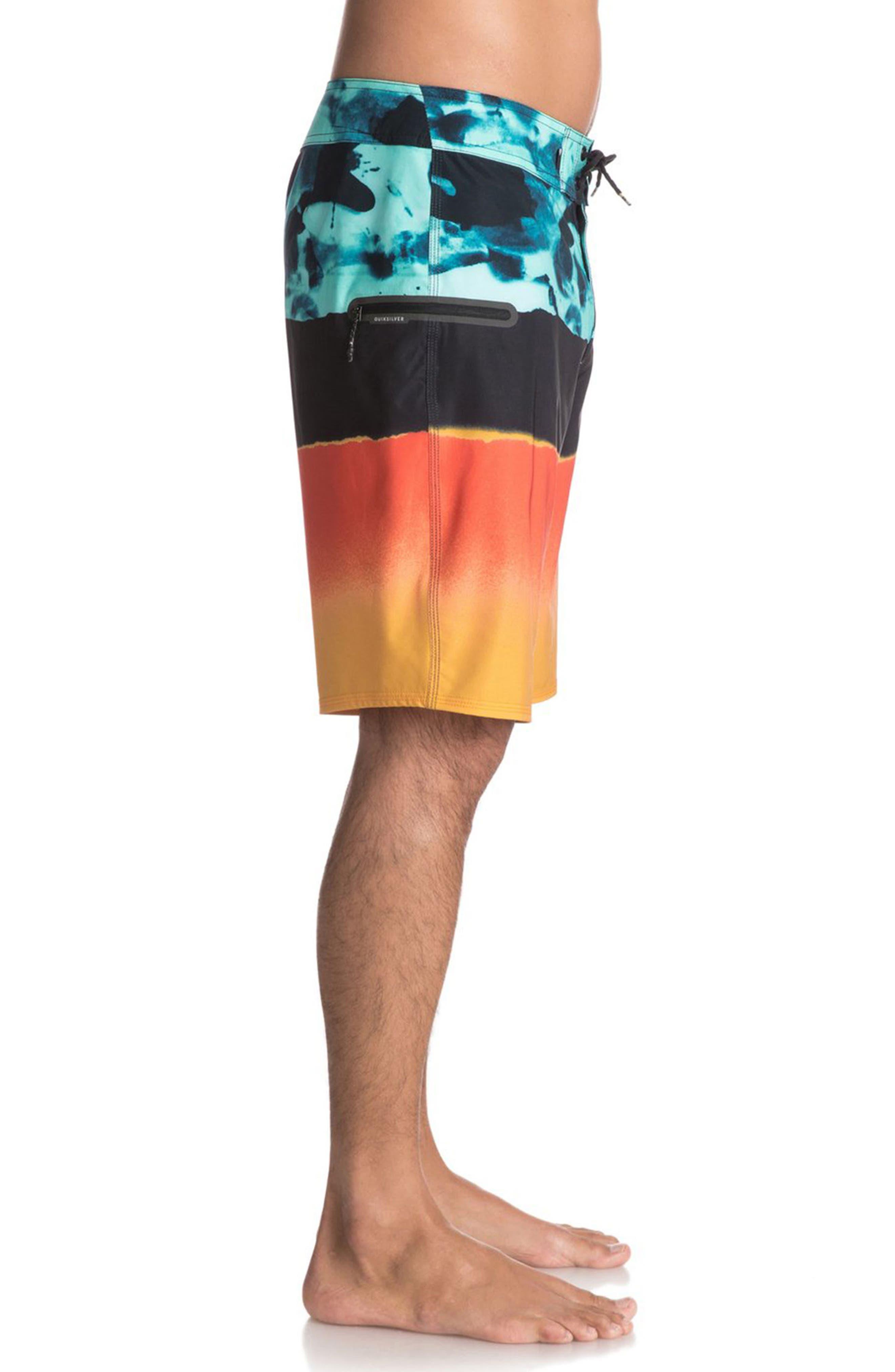 Blocked Resin Board Shorts,                             Alternate thumbnail 9, color,