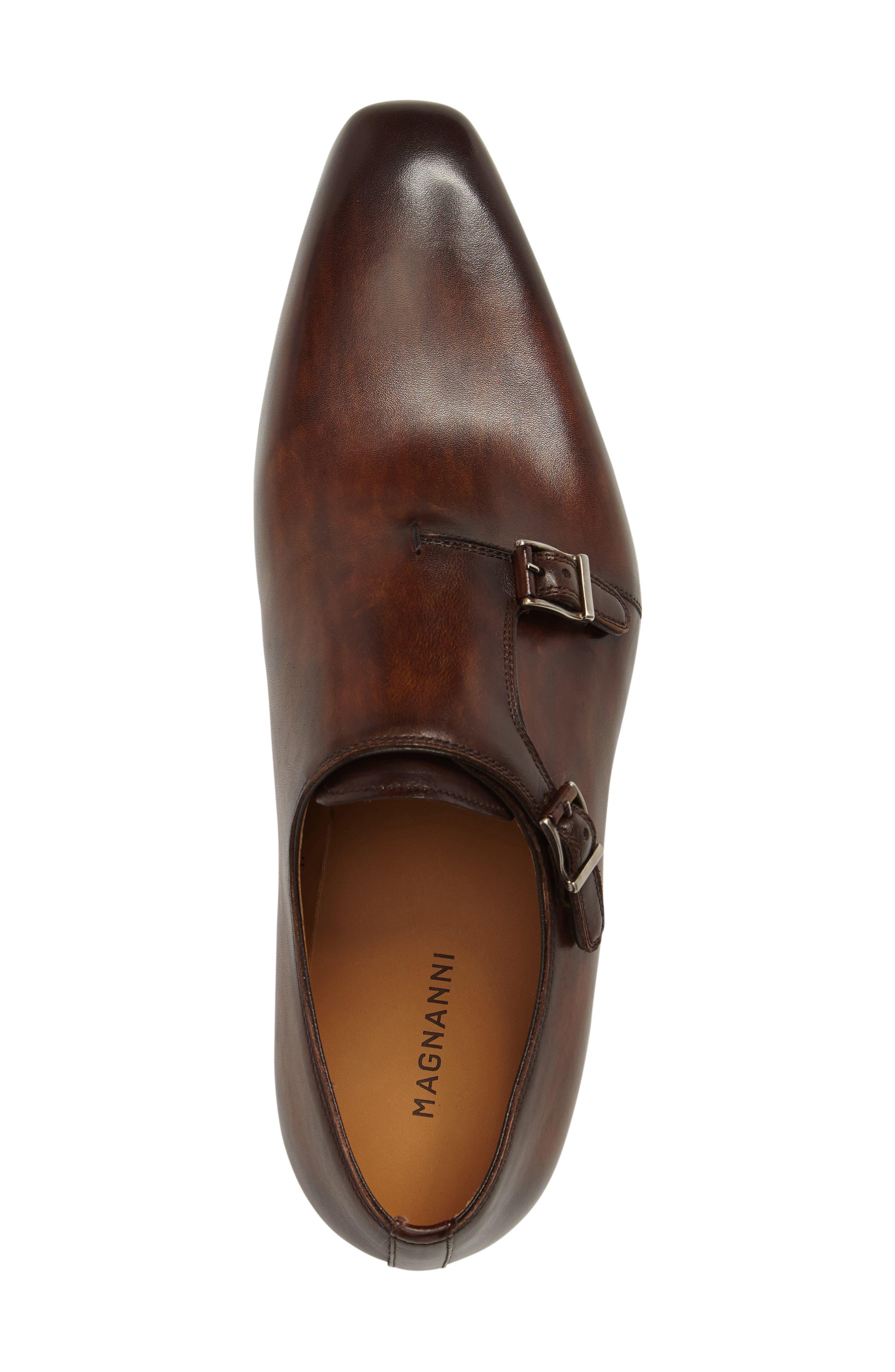 Jamin Double Monk Strap Shoe,                             Alternate thumbnail 9, color,
