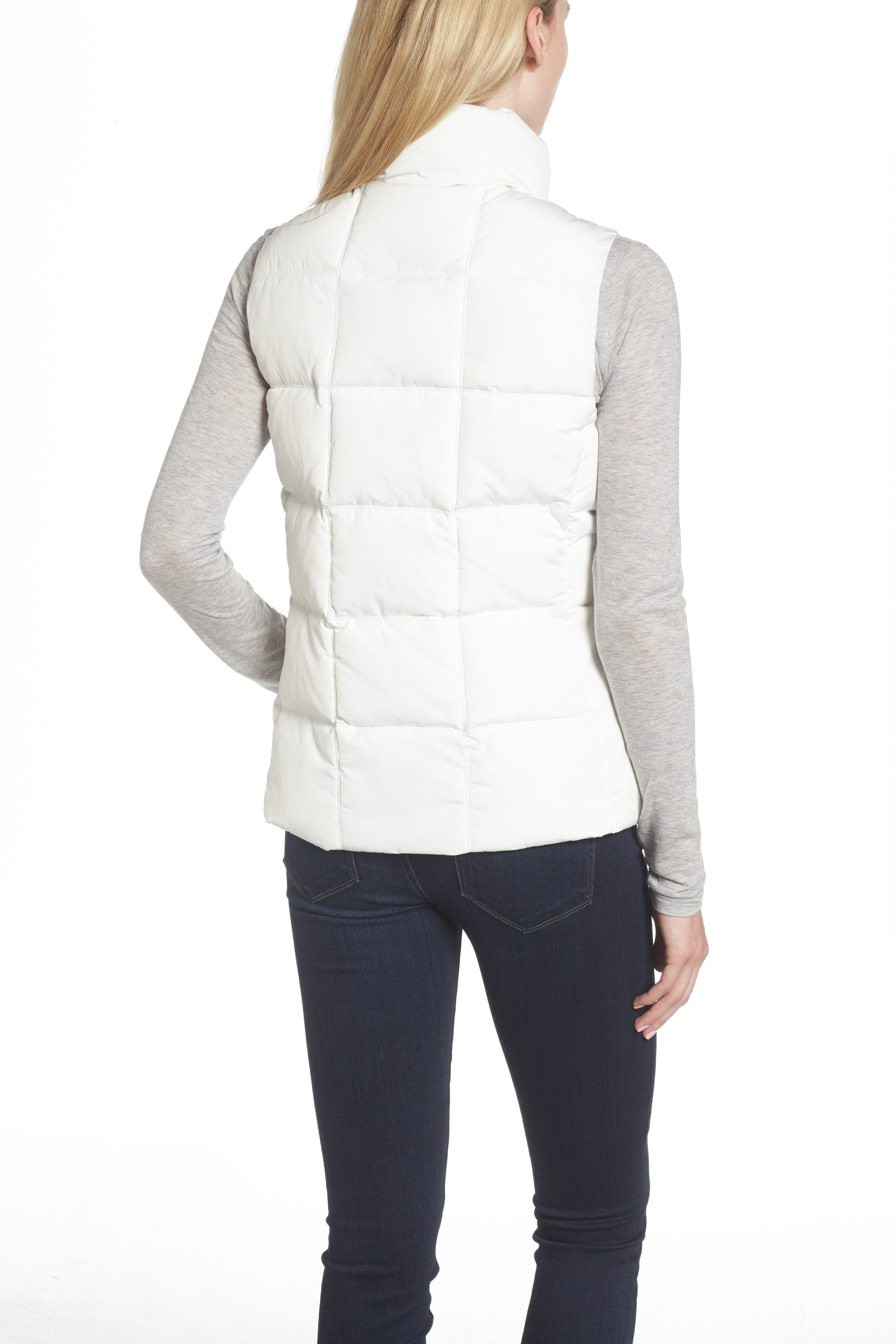 Quilted Puffer Vest,                             Alternate thumbnail 2, color,                             100