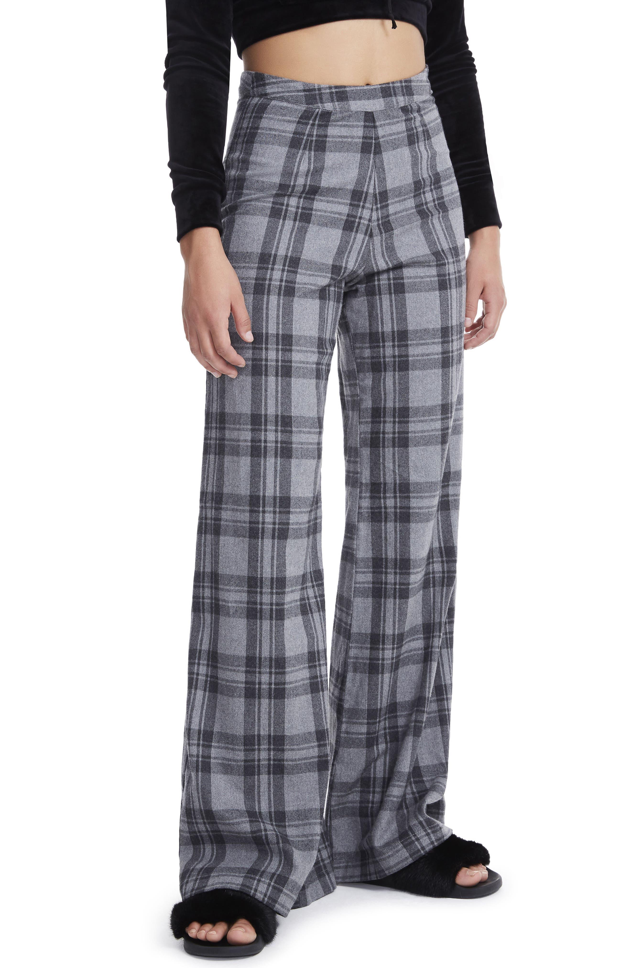 Carter High Waist Wide Leg Pants,                             Alternate thumbnail 5, color,
