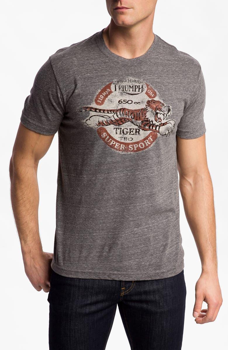 Lucky Brand Triumph Tiger T Shirt Nordstrom