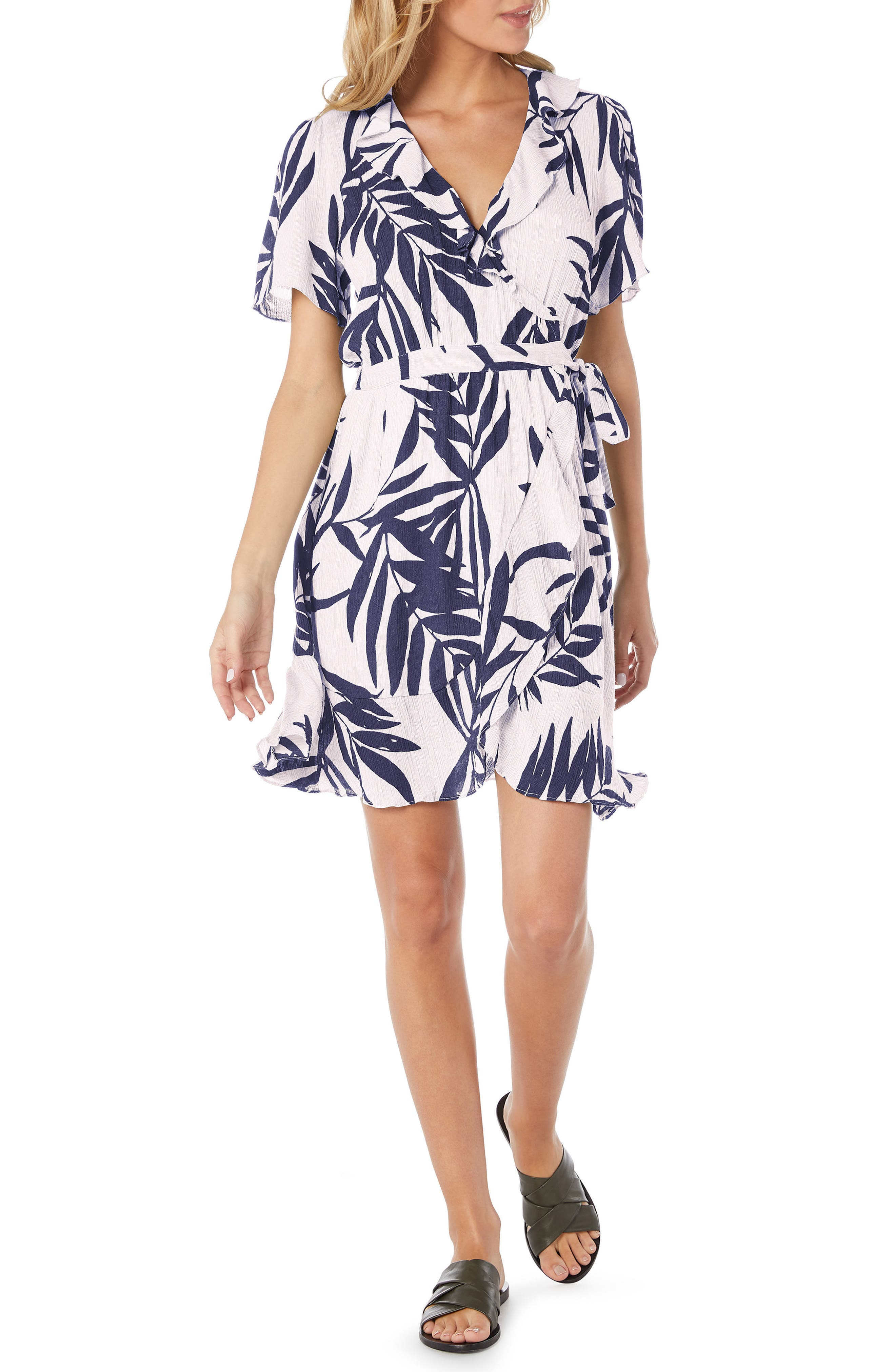 Paradiso Wrap Dress,                             Main thumbnail 2, color,