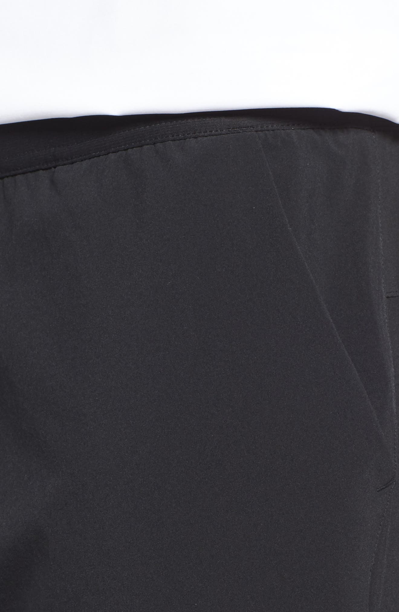 Speedwick Speed Training Shorts,                             Alternate thumbnail 4, color,                             BLACK
