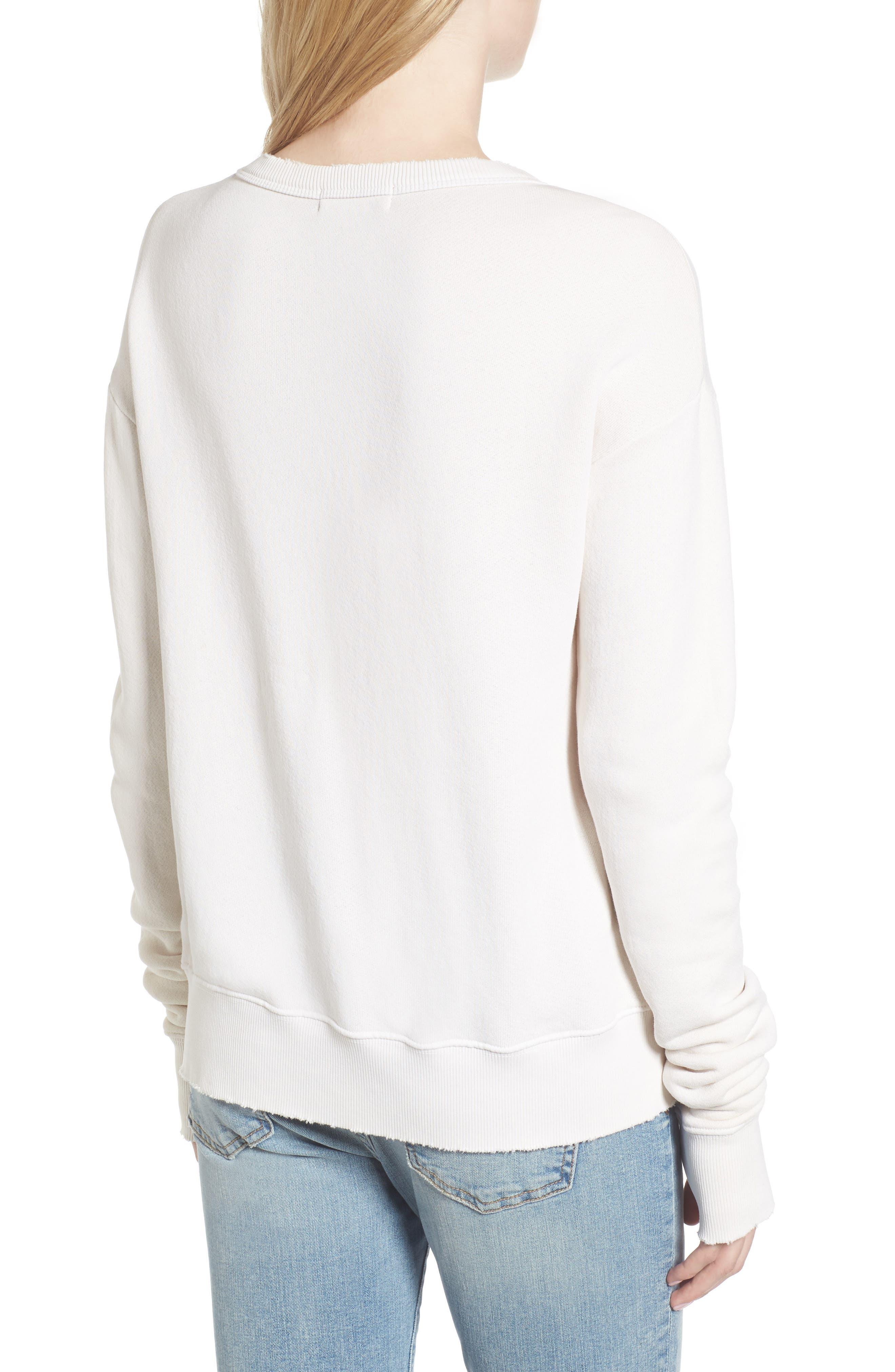 Vernon Bad Habits Distressed Sweatshirt,                             Alternate thumbnail 2, color,