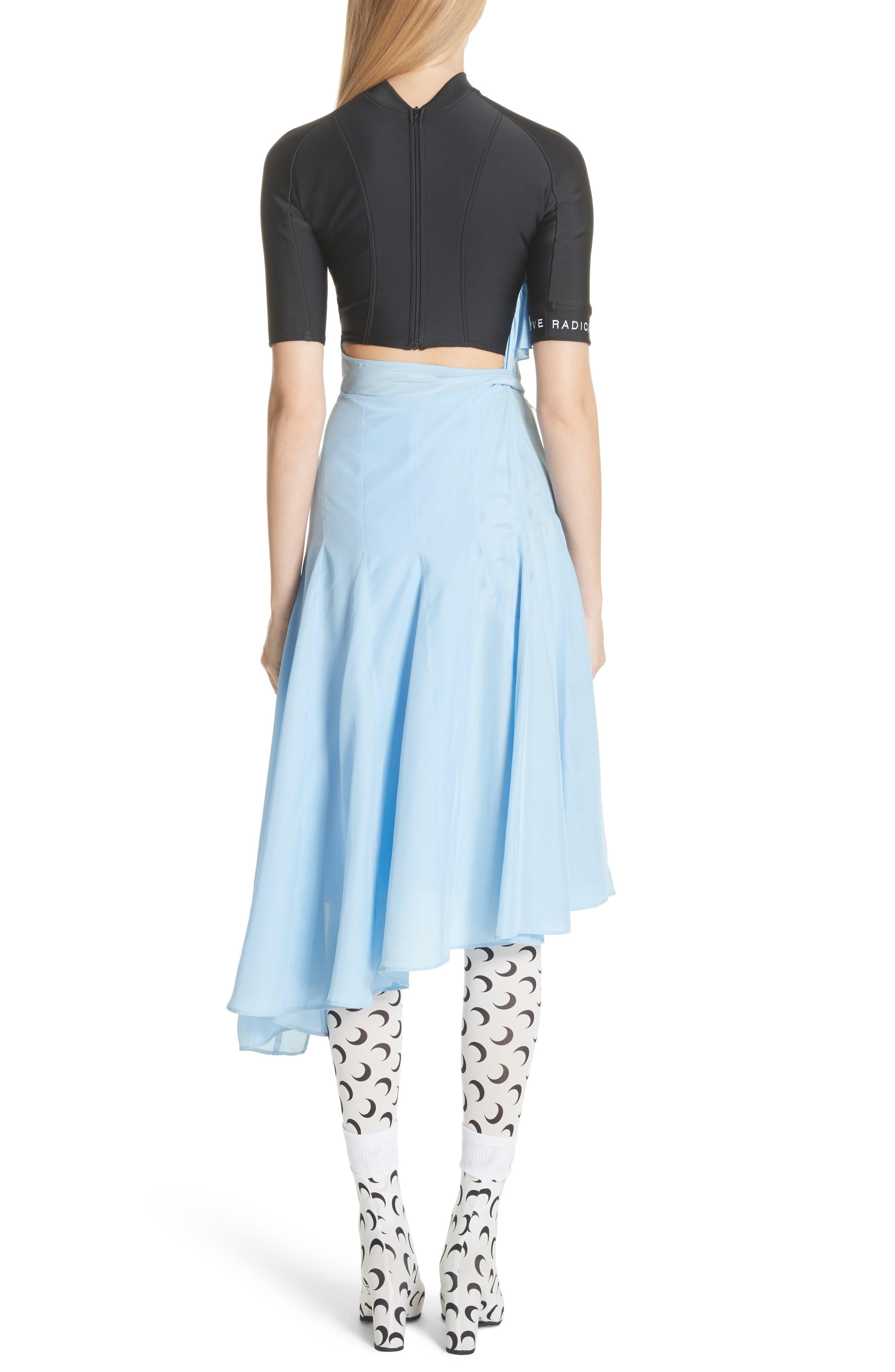 Hybrid Wrap Dress,                             Alternate thumbnail 2, color,                             400