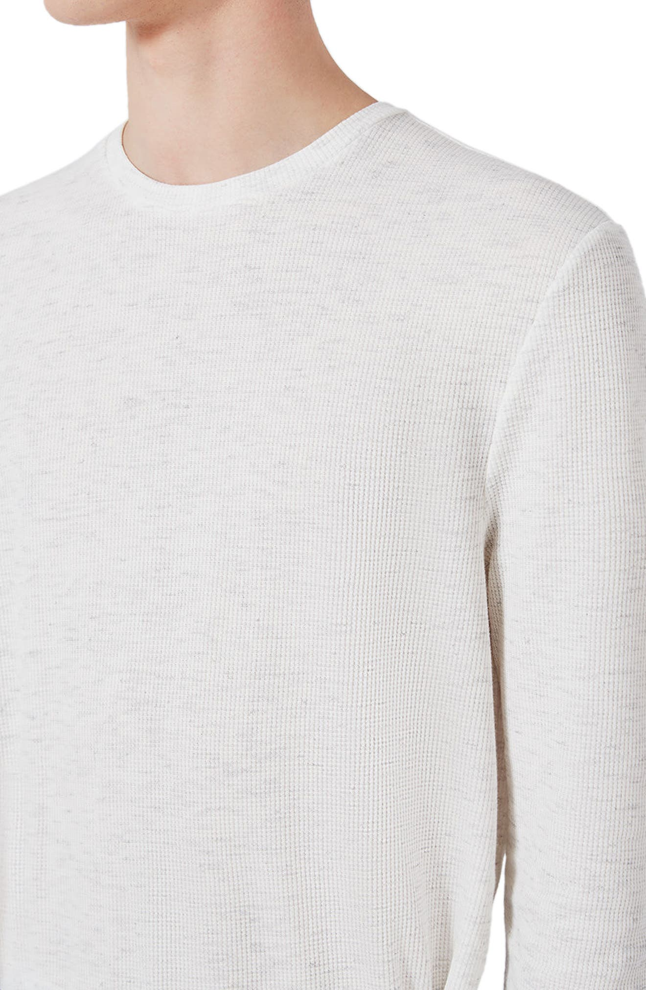 Waffle Knit Long Sleeve T-Shirt,                             Alternate thumbnail 15, color,