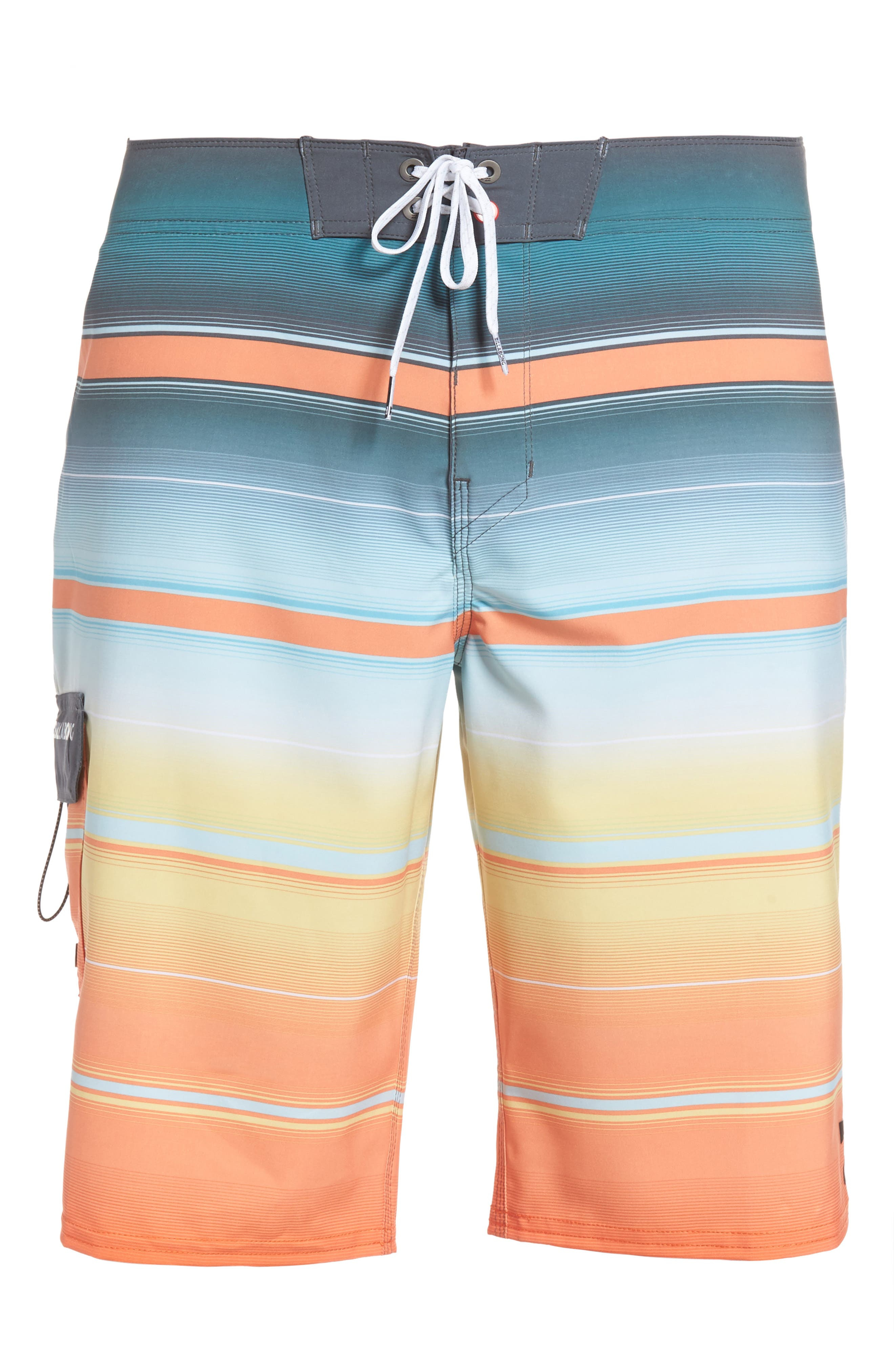All Day X Stripe Board Shorts,                             Alternate thumbnail 28, color,