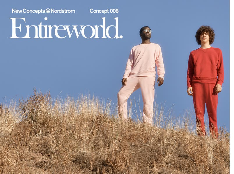 New Concepts at Nordstrom: Entireworld.