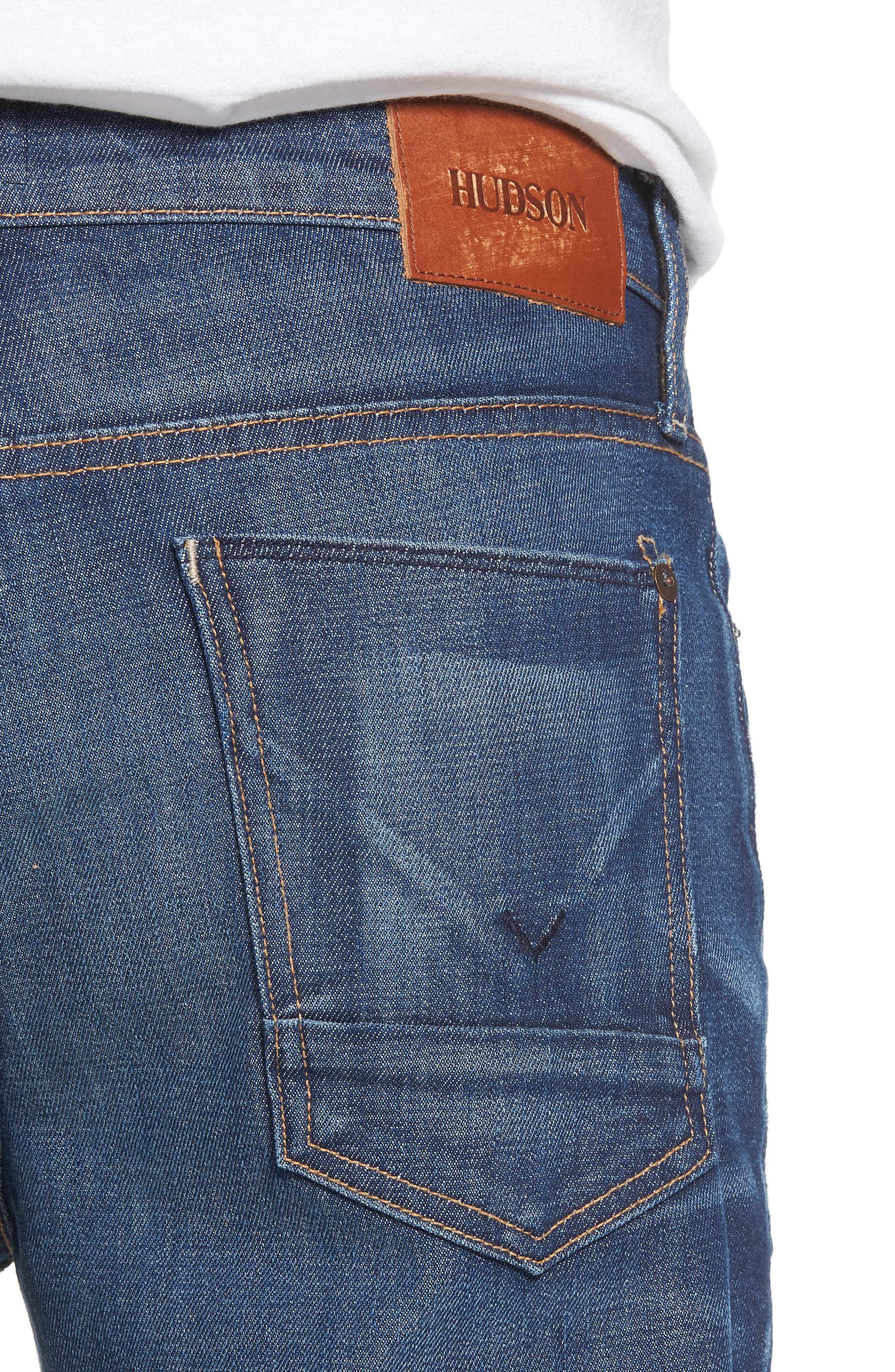 Axl Skinny Fit Jeans,                             Alternate thumbnail 4, color,                             425
