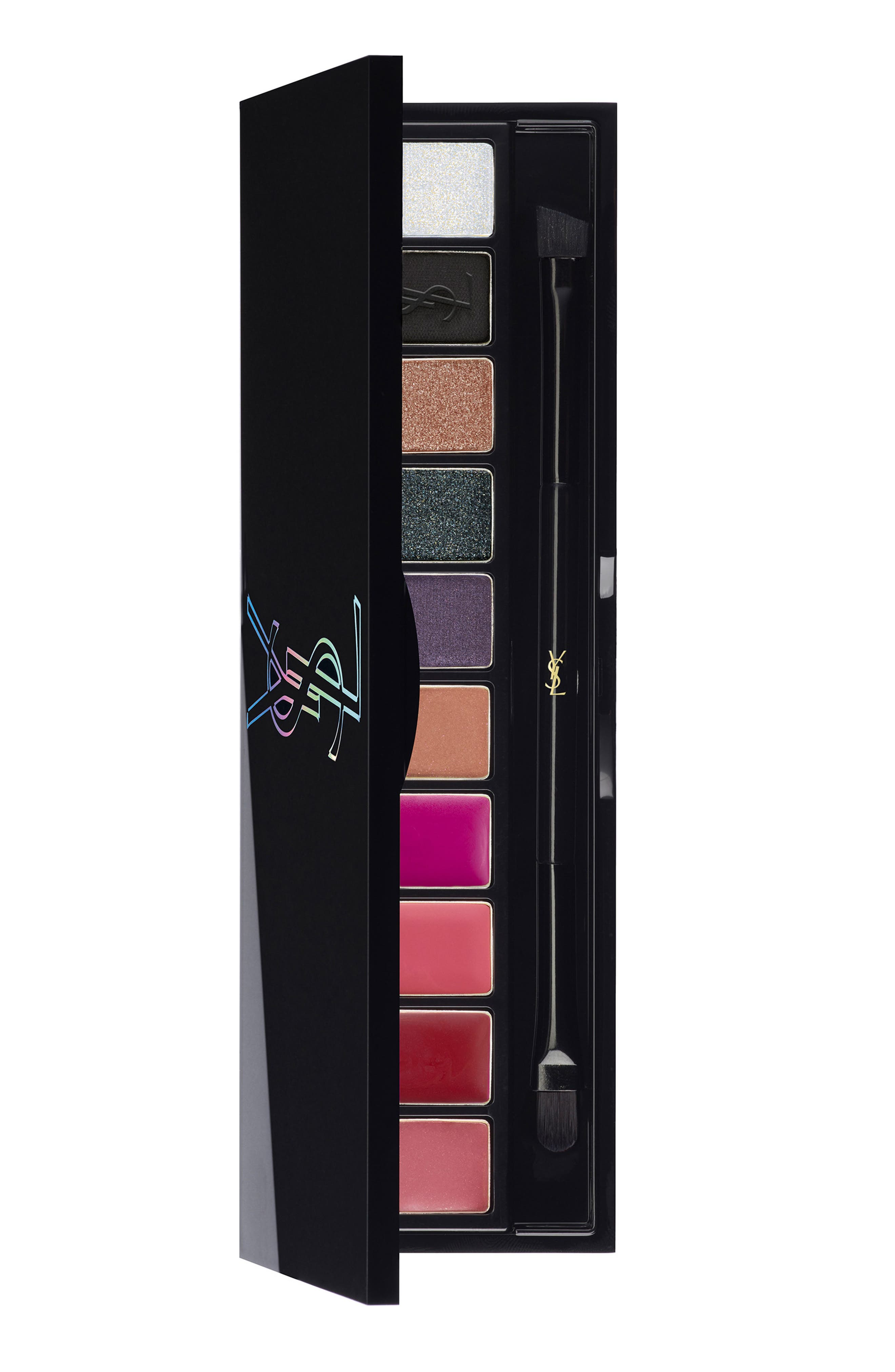 Yves Saint Laurent Night 54 Couture Variation Palette For Eyes & Lips - No Color