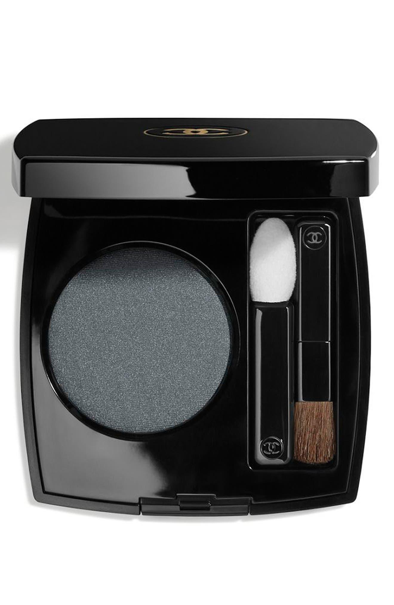 OMBRE PREMIÈRE<br />Longwear Powder Eyeshadow,                         Main,                         color, 44 BLEU SELENE