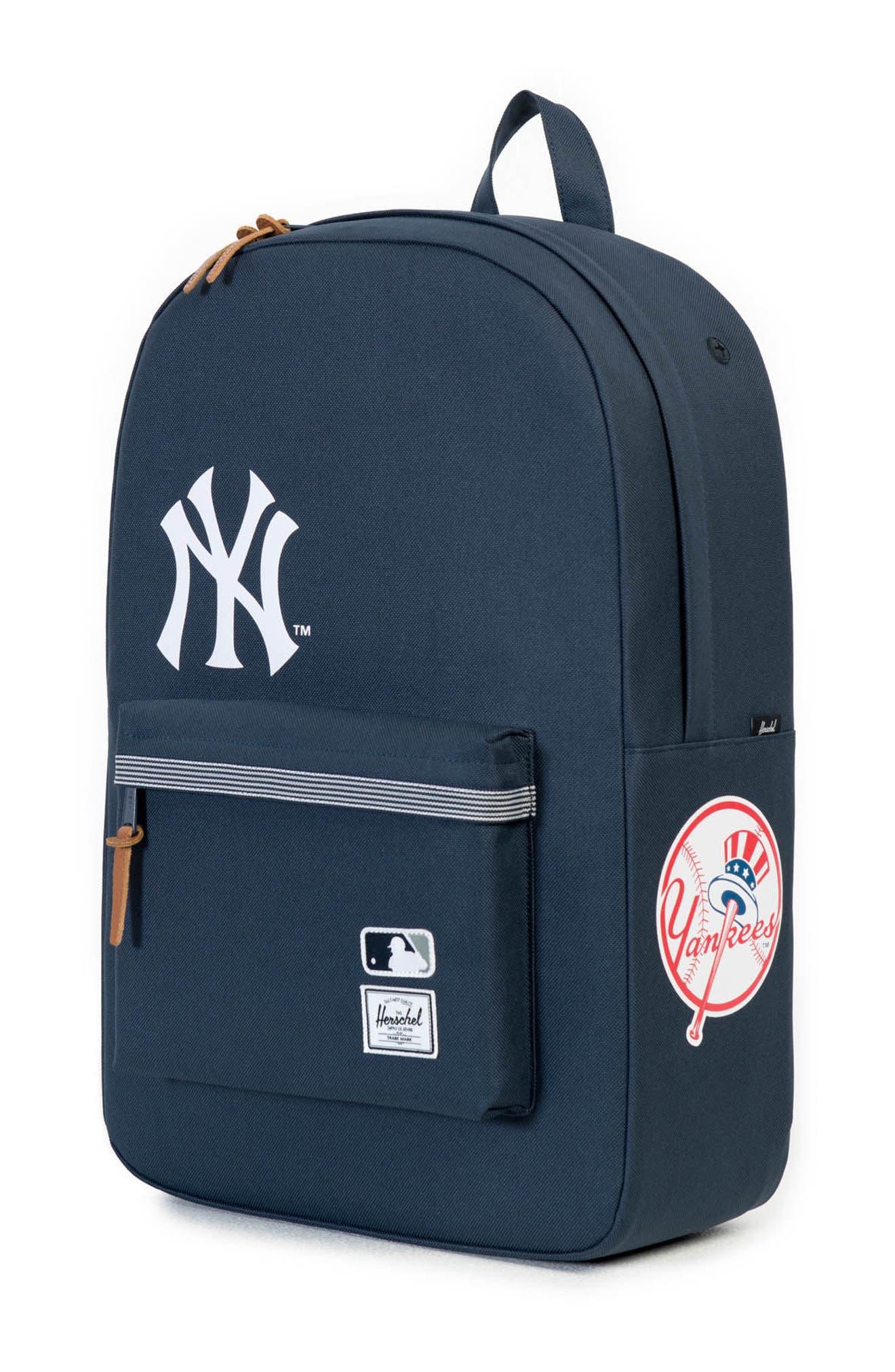 HERSCHEL SUPPLY CO.,                             Heritage New York Yankees Backpack,                             Alternate thumbnail 4, color,                             NEW YORK YANKEES