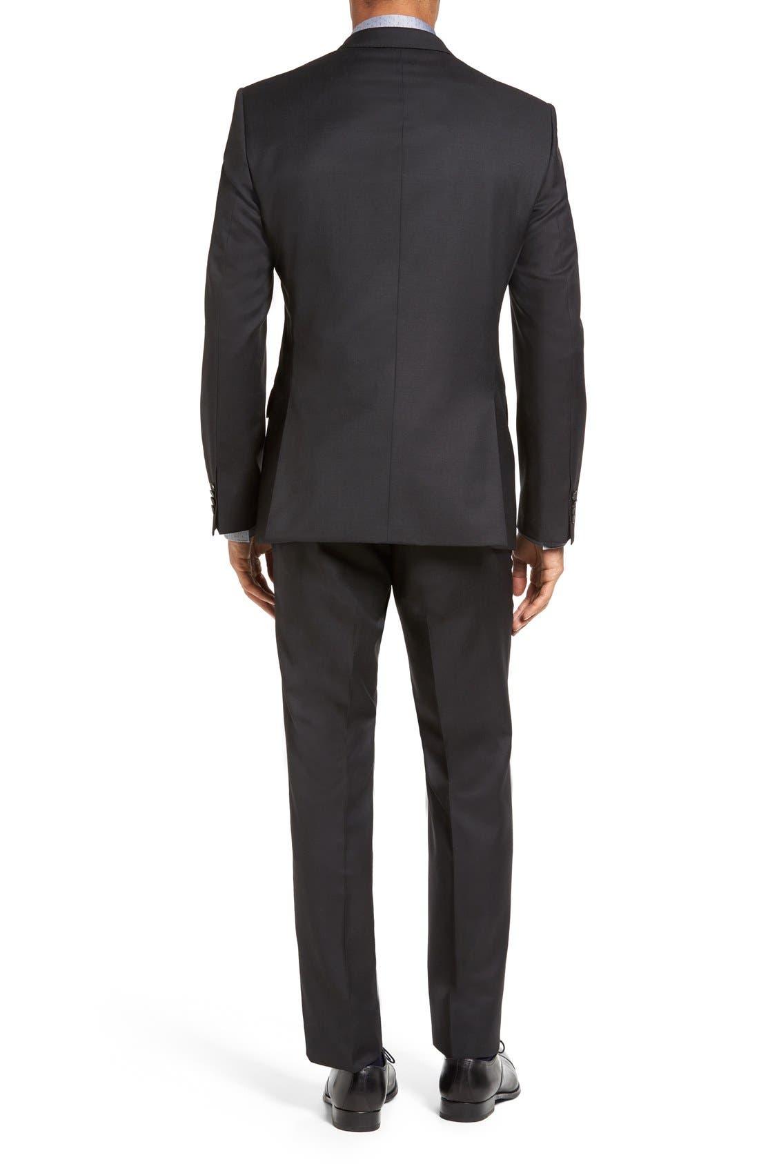 Huge/Genius Trim Fit Wool Suit,                             Alternate thumbnail 2, color,                             021