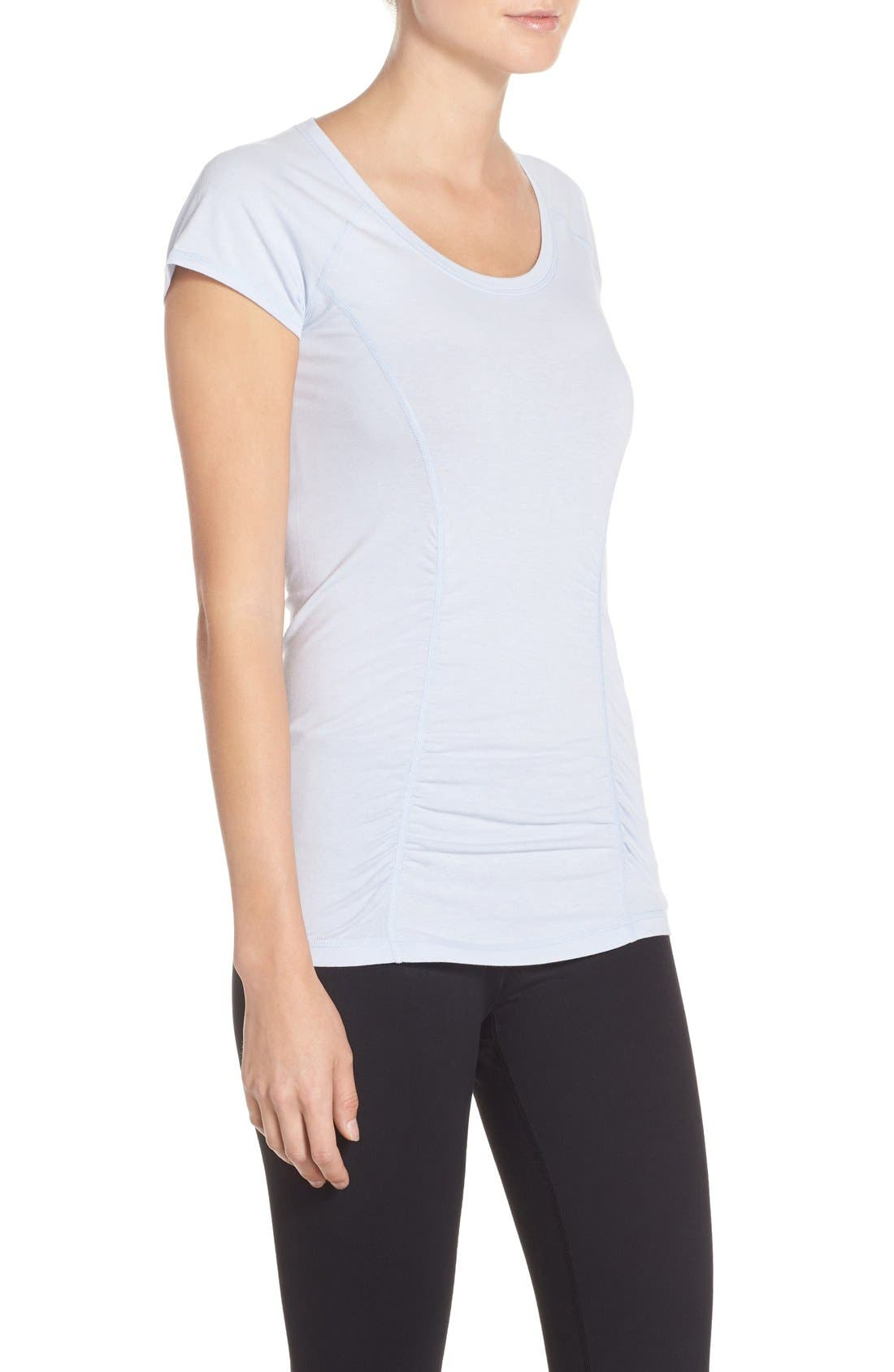 'Z 6' Ruched Tee,                             Alternate thumbnail 39, color,